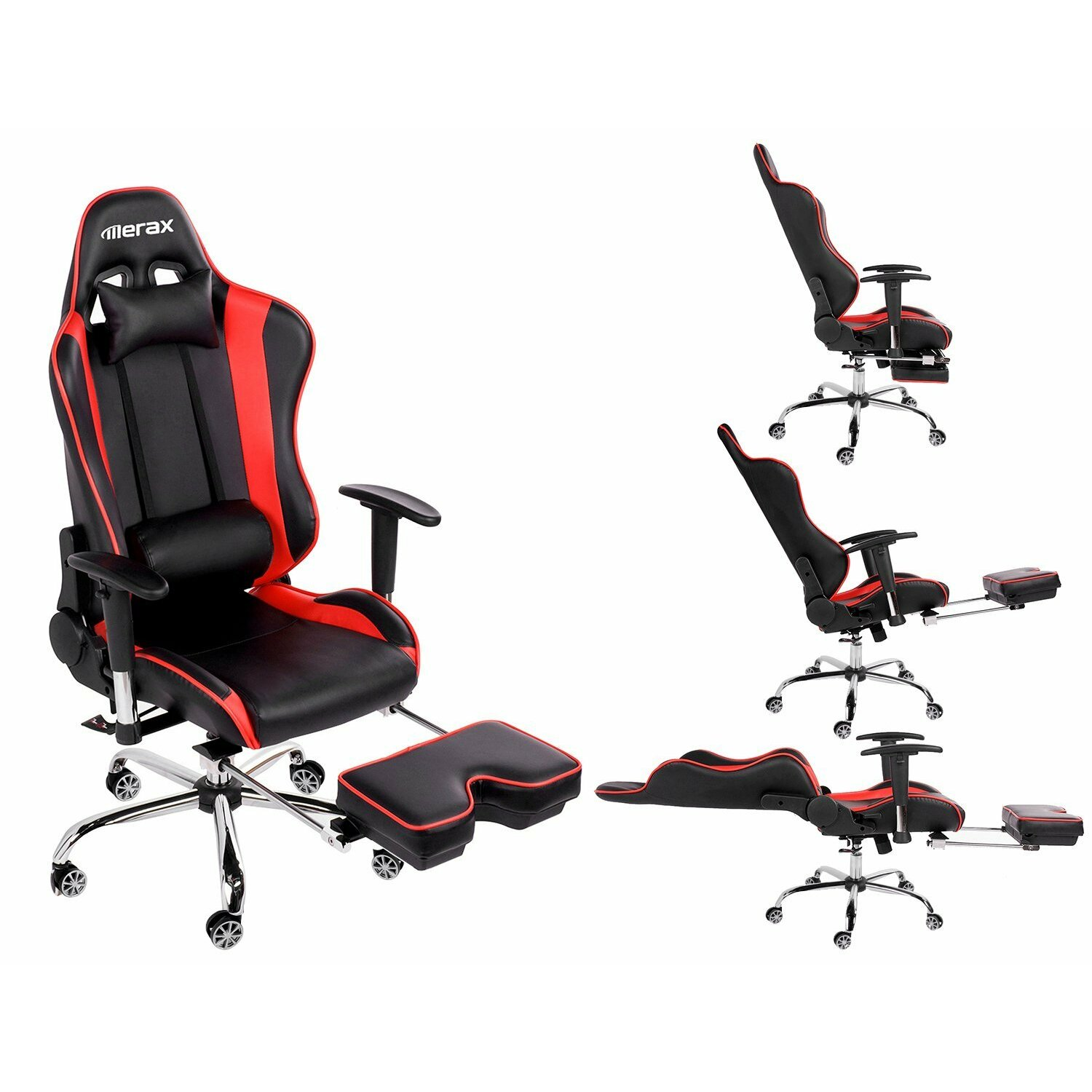 Merax Big And Tall Back Ergonomic Racing Style Computer