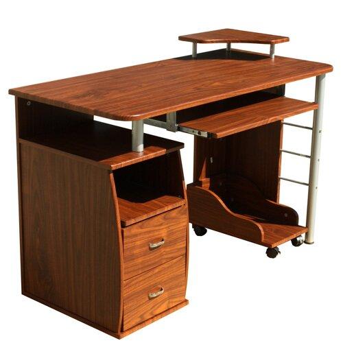Computer Desk With 2 Drawers Wayfair