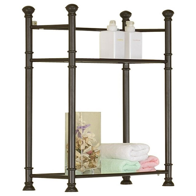 "Monarch Specialties Inc. 22"" x 26"" Bathroom Shelf ..."