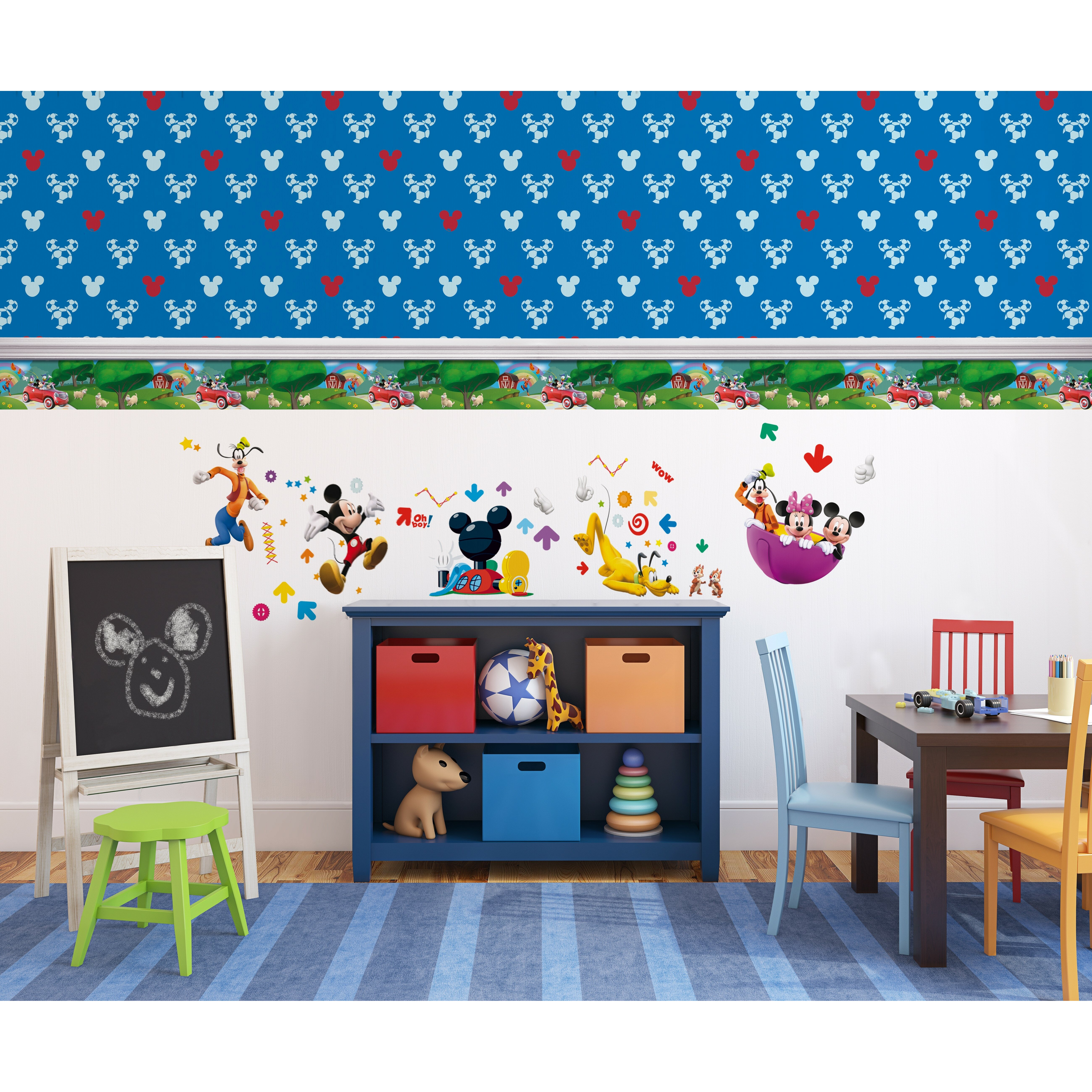 Mickey Mouse Wallpaper For Bedroom Mickey Mouse Bedroom Wallpaper Uk Baby Wall