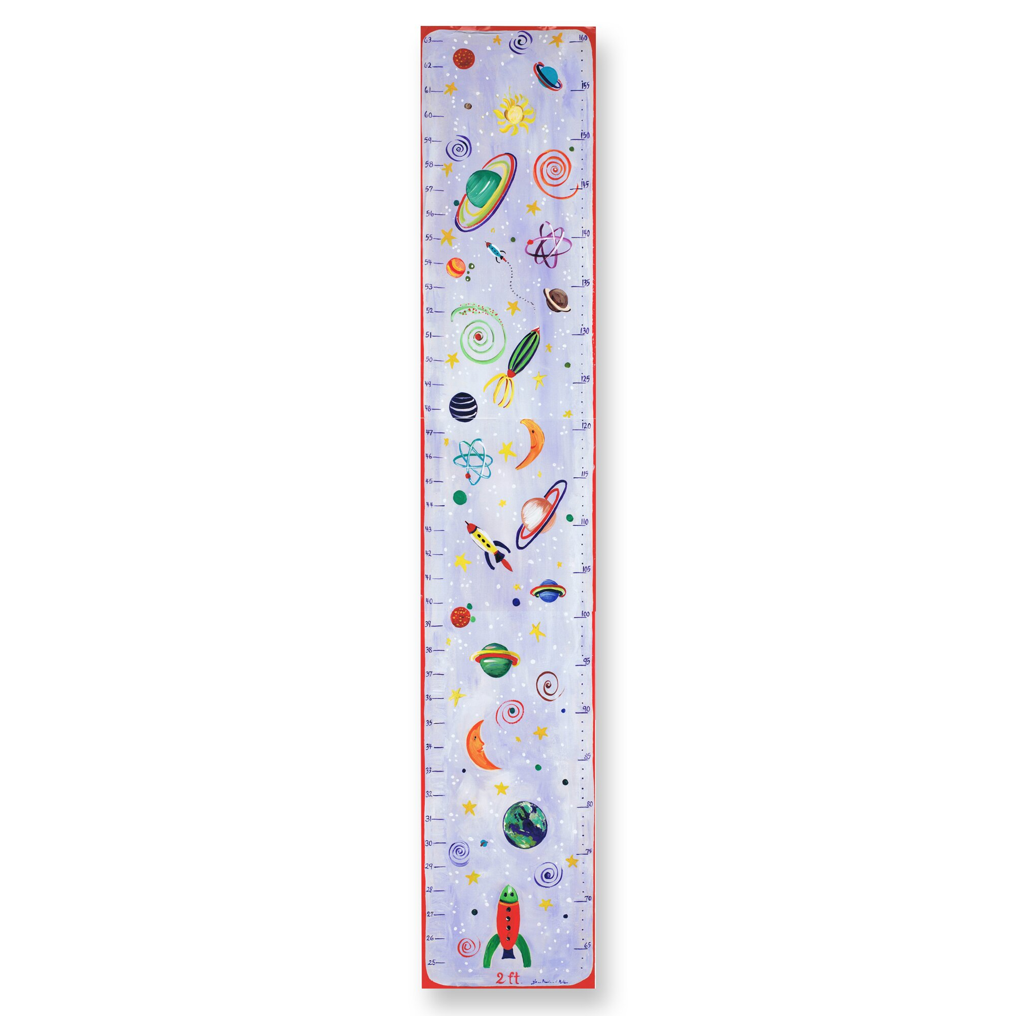 The kids room celestial growth chart wayfair for Growth chart for kids room