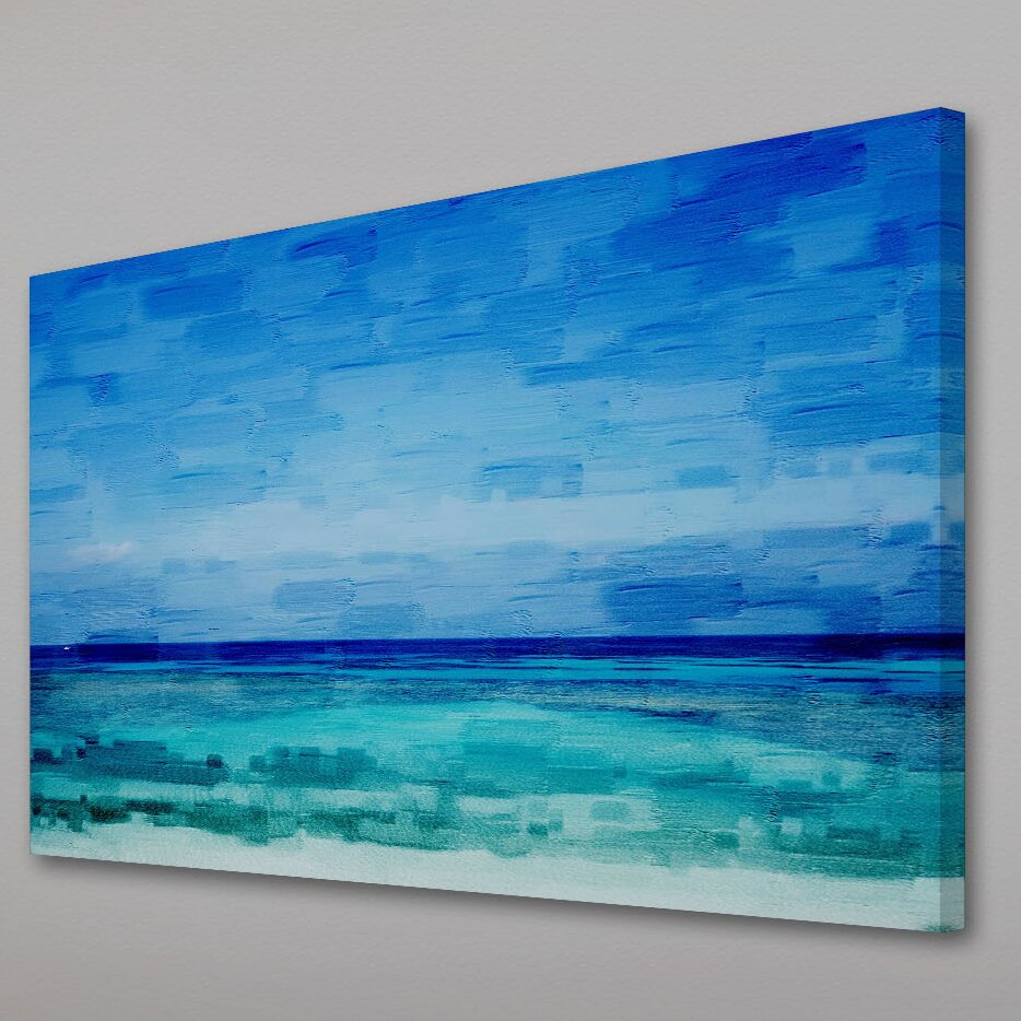 ParvezTaj Cromer Painting Print on Wrapped Canvas