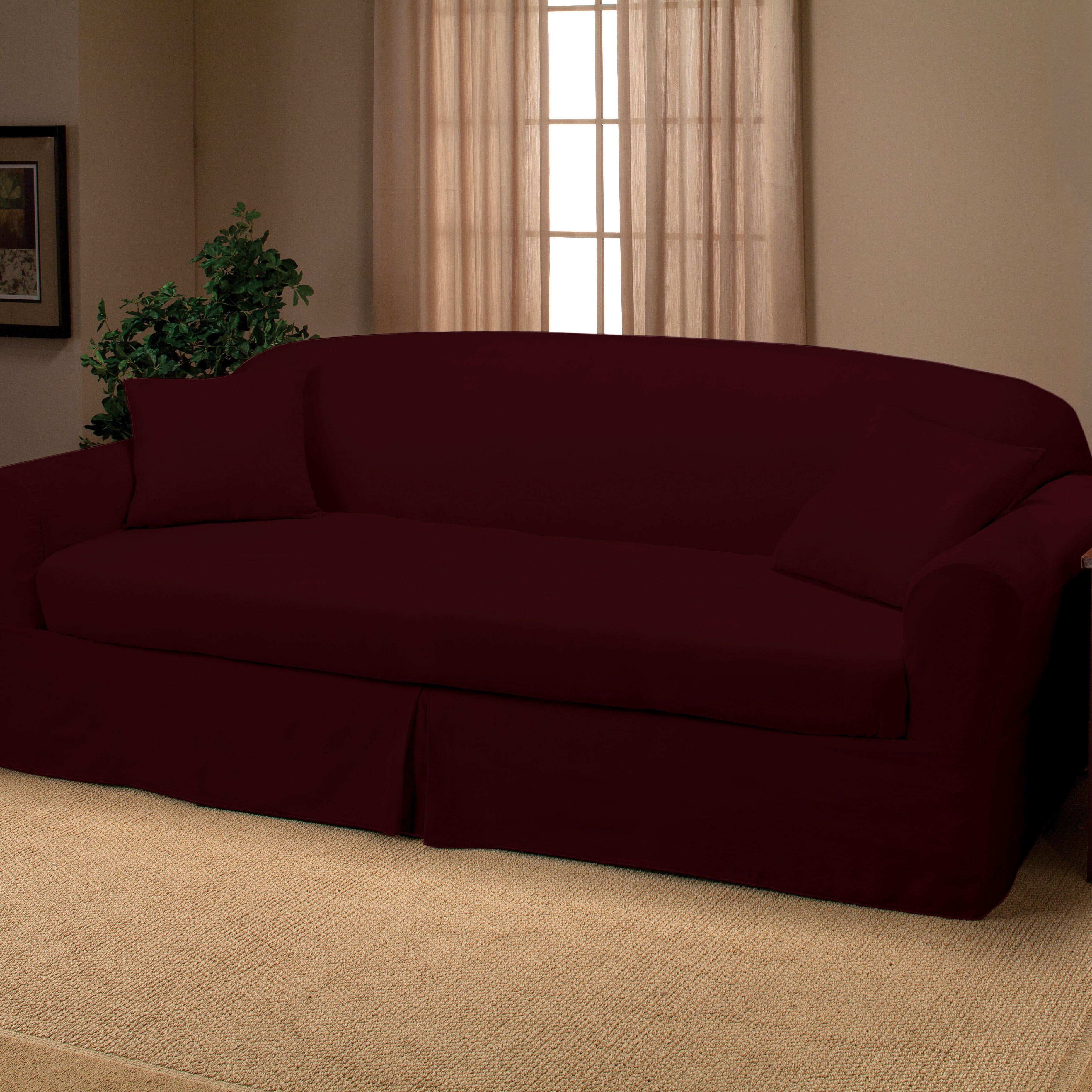 Madison Home Microsuede 2 Piece Sofa Slipcover Amp Reviews