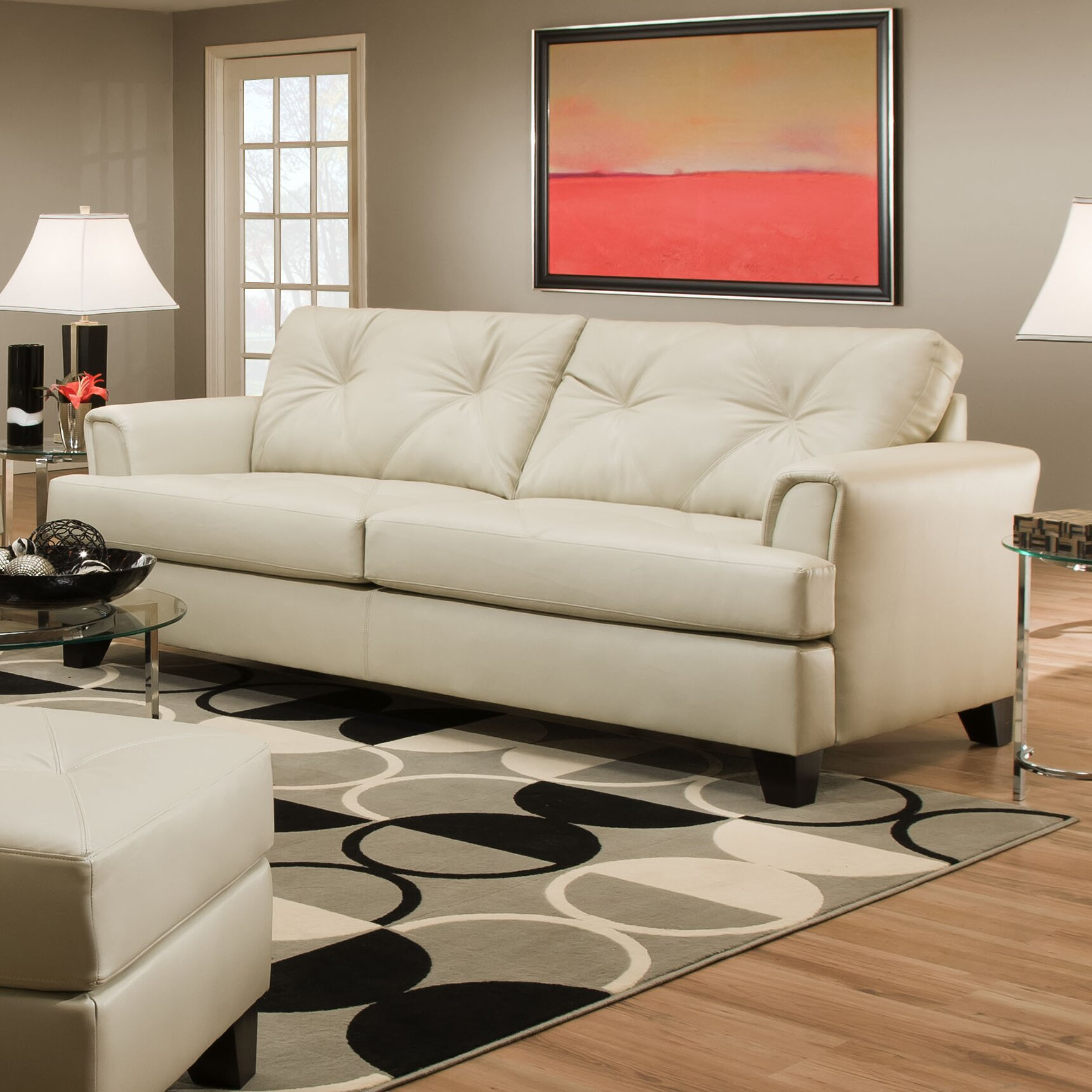 Simmons Upholstery Bentley Sofa & Reviews