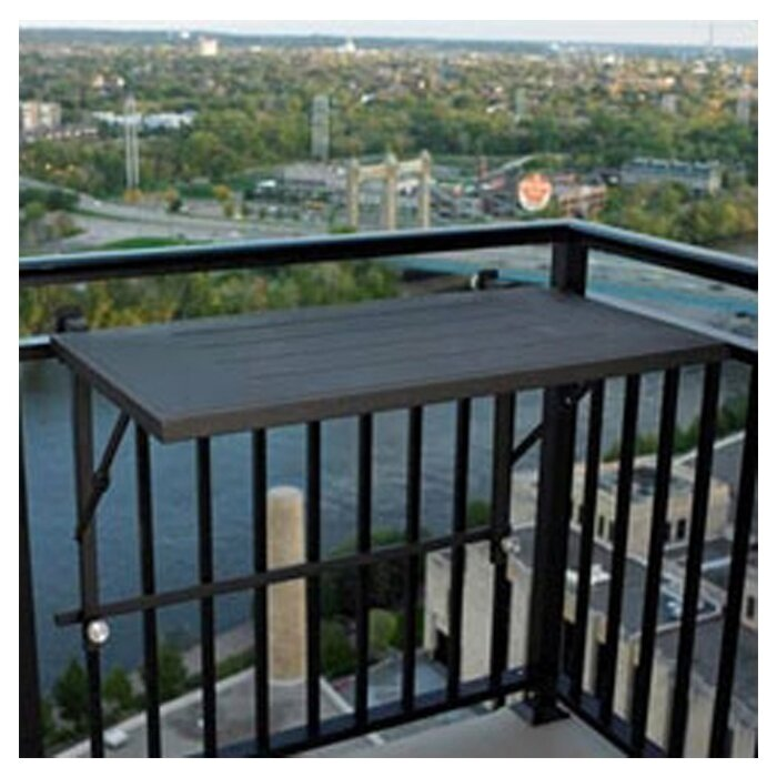 the outdoor greatroom company deck rail mount grill shelf reviews