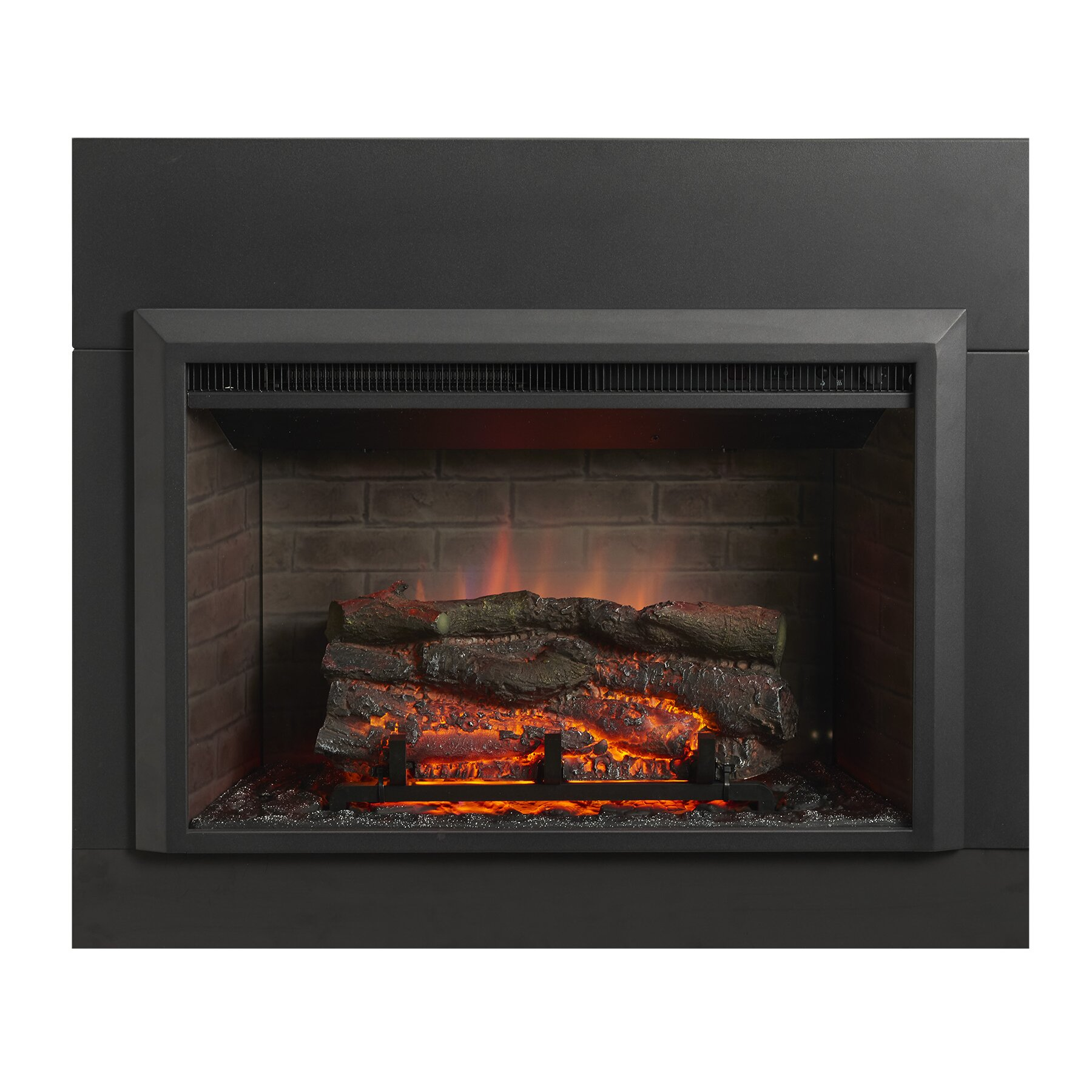 The Outdoor Greatroom Company Gallery Zero Clearance Electric Fireplace Insert Reviews Wayfair