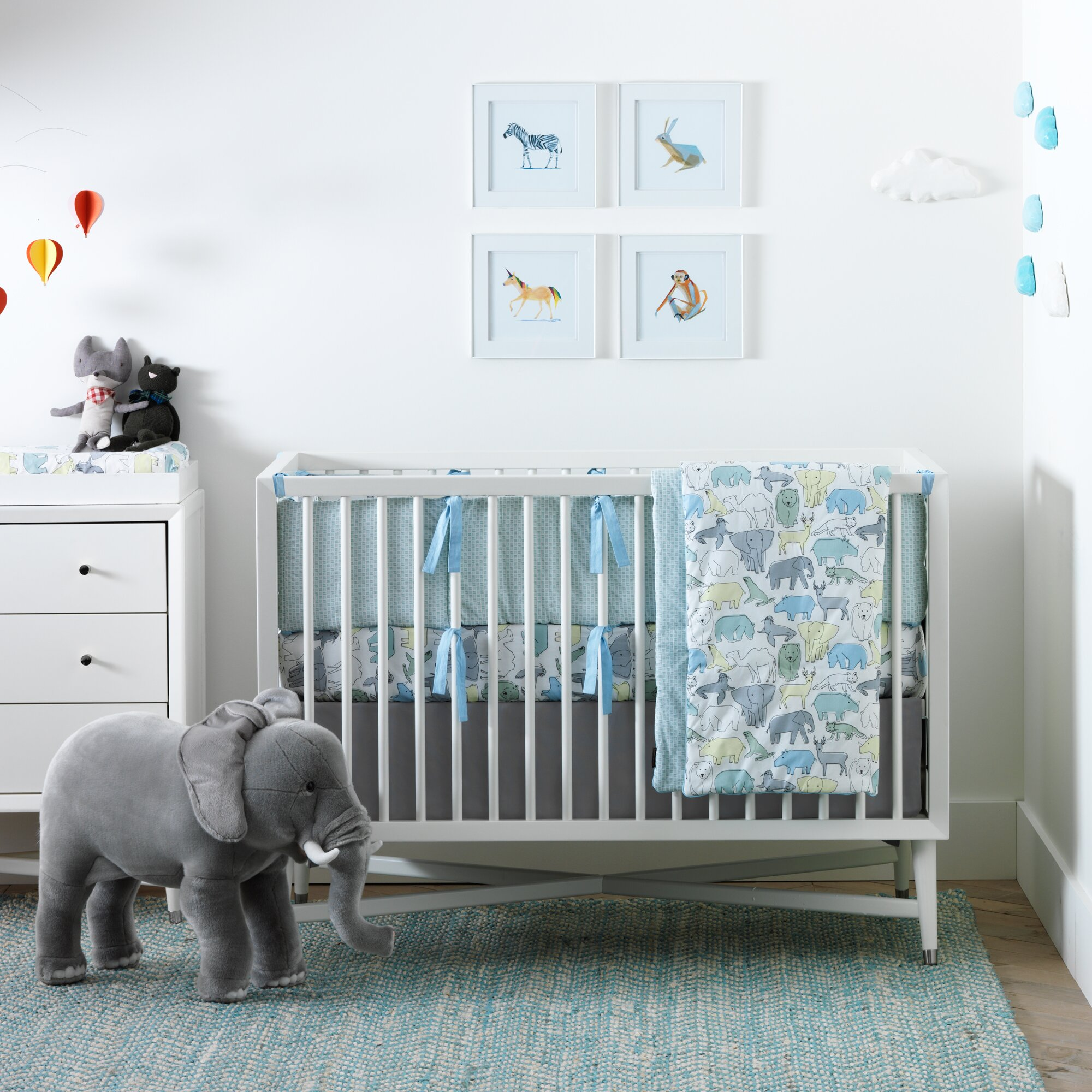 dwellstudio caravan nursery bedding collection dwellstudio