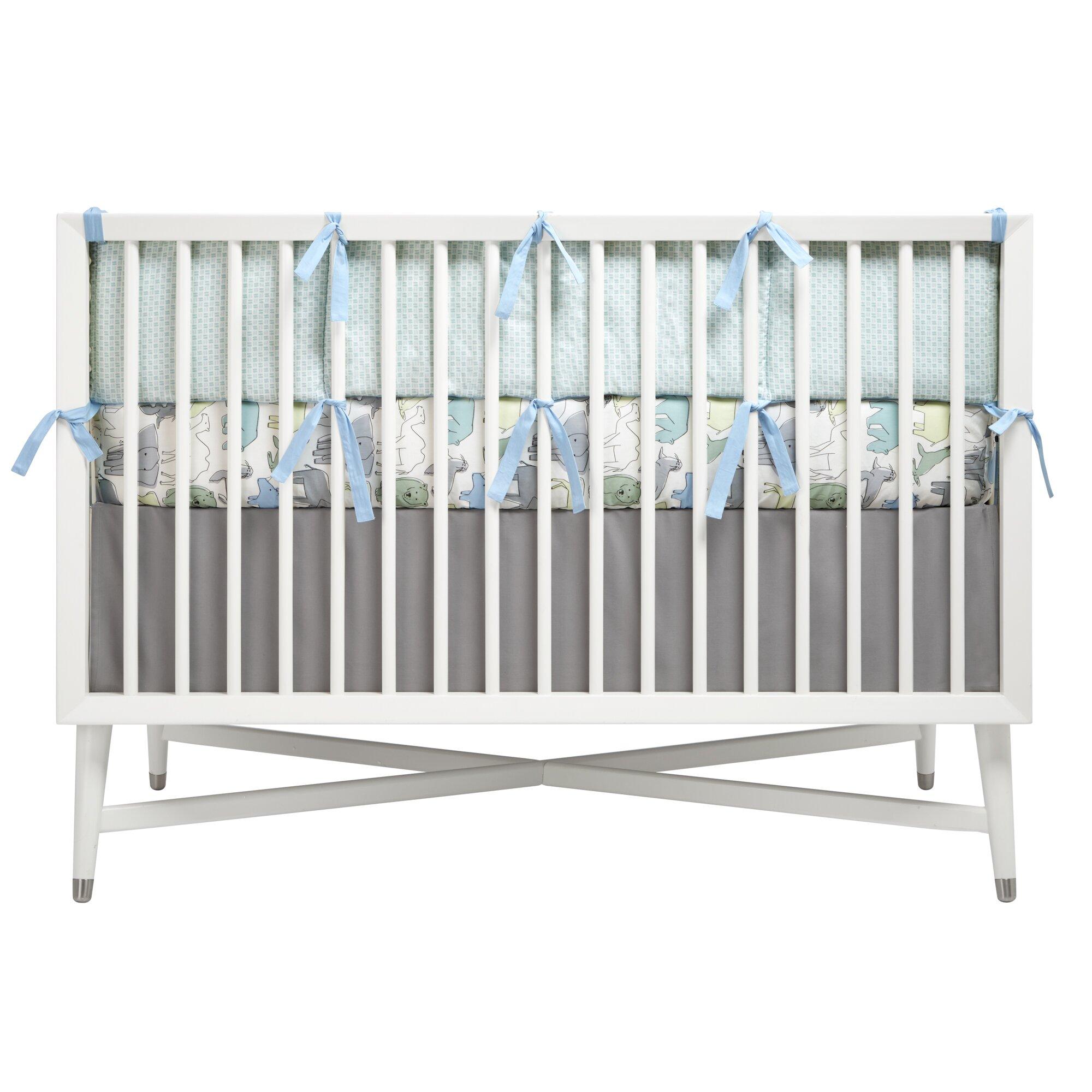 dwellstudio caravan fitted crib sheet dwellstudio