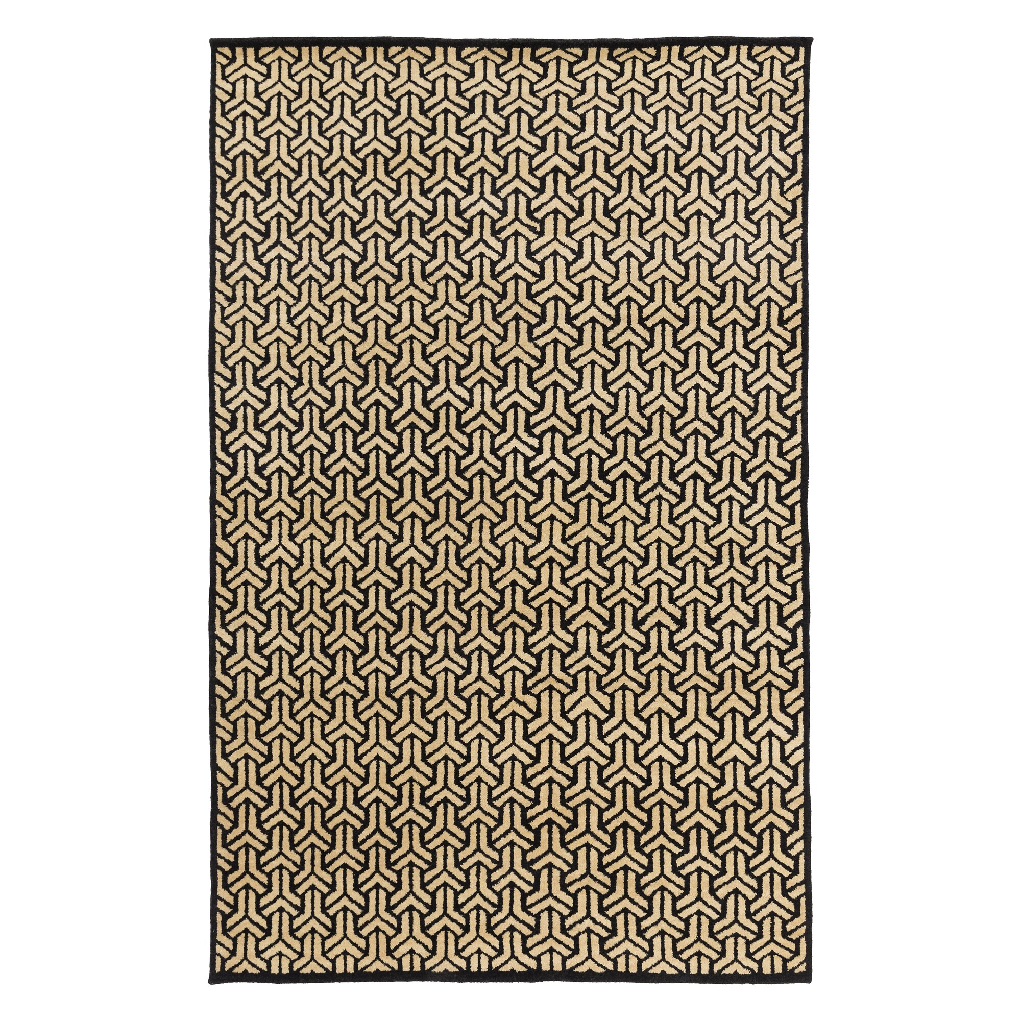 dwellstudio paloma hand knotted ink area rug dwellstudio