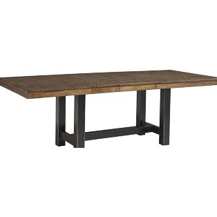 austin extendable dining table by dwellstudio