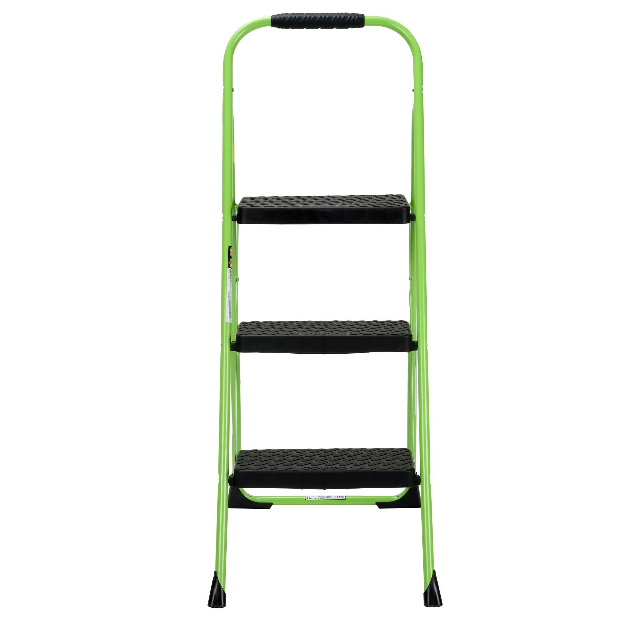 Cosco Home And Office 3 Step Big Step Folding Step Stool