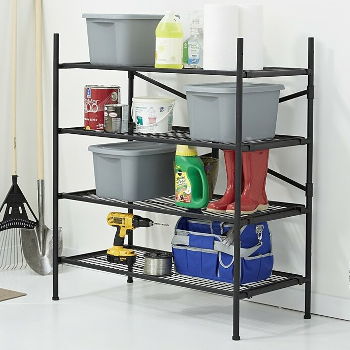"""Cosco Home And Office Folding Instant Storage 47.54"""" H 4"""
