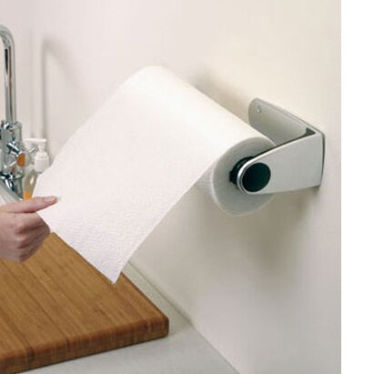 wall mount stainless steel paper towel holder wayfair. Black Bedroom Furniture Sets. Home Design Ideas
