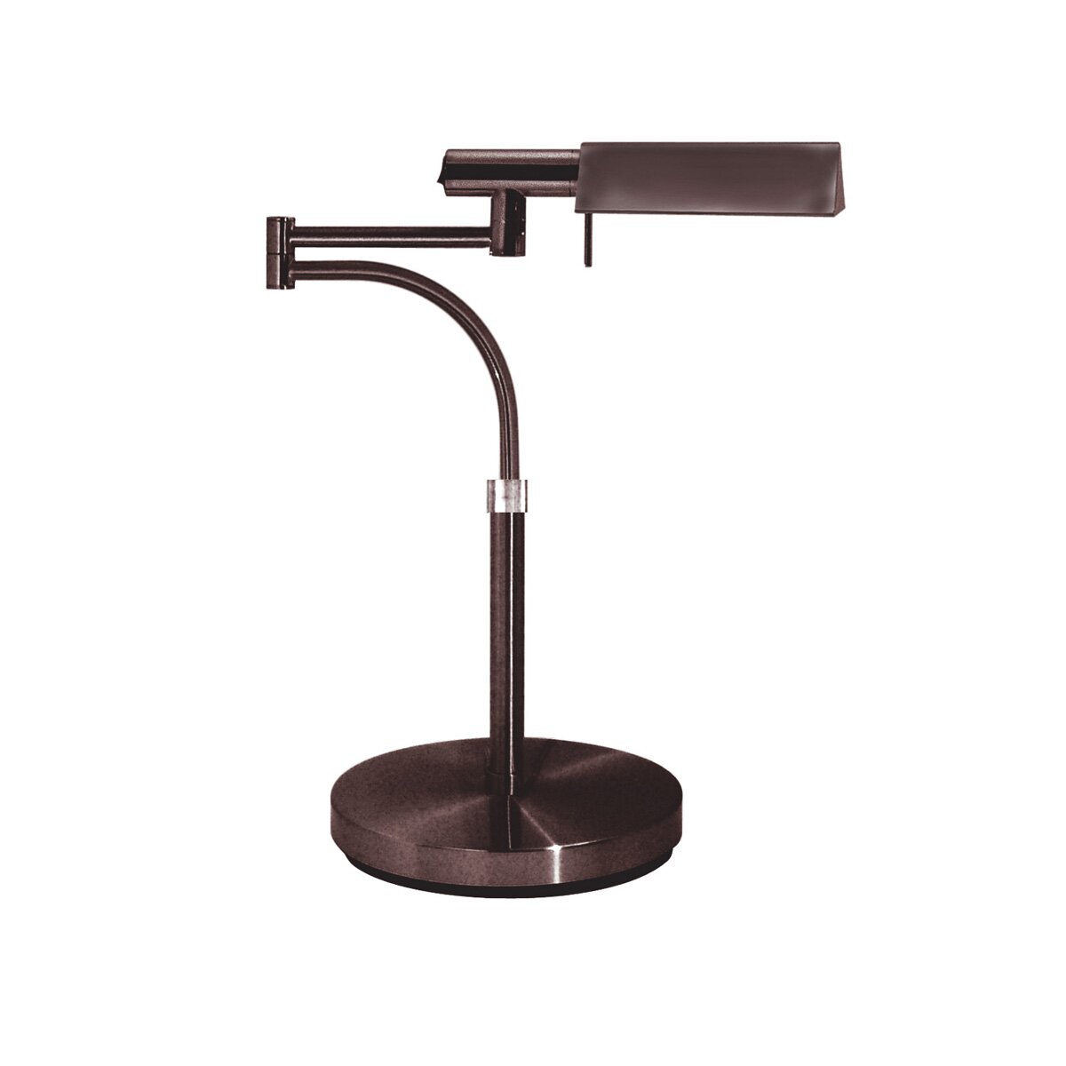 tenda swing arm 19 h table lamp with rectangular shade wayfair. Black Bedroom Furniture Sets. Home Design Ideas