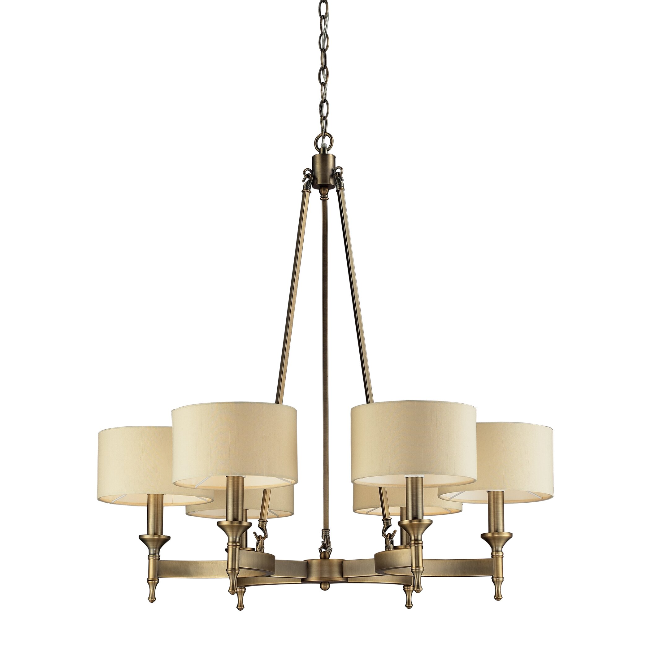Wayfair Chandelier: 6 Light Chandelier