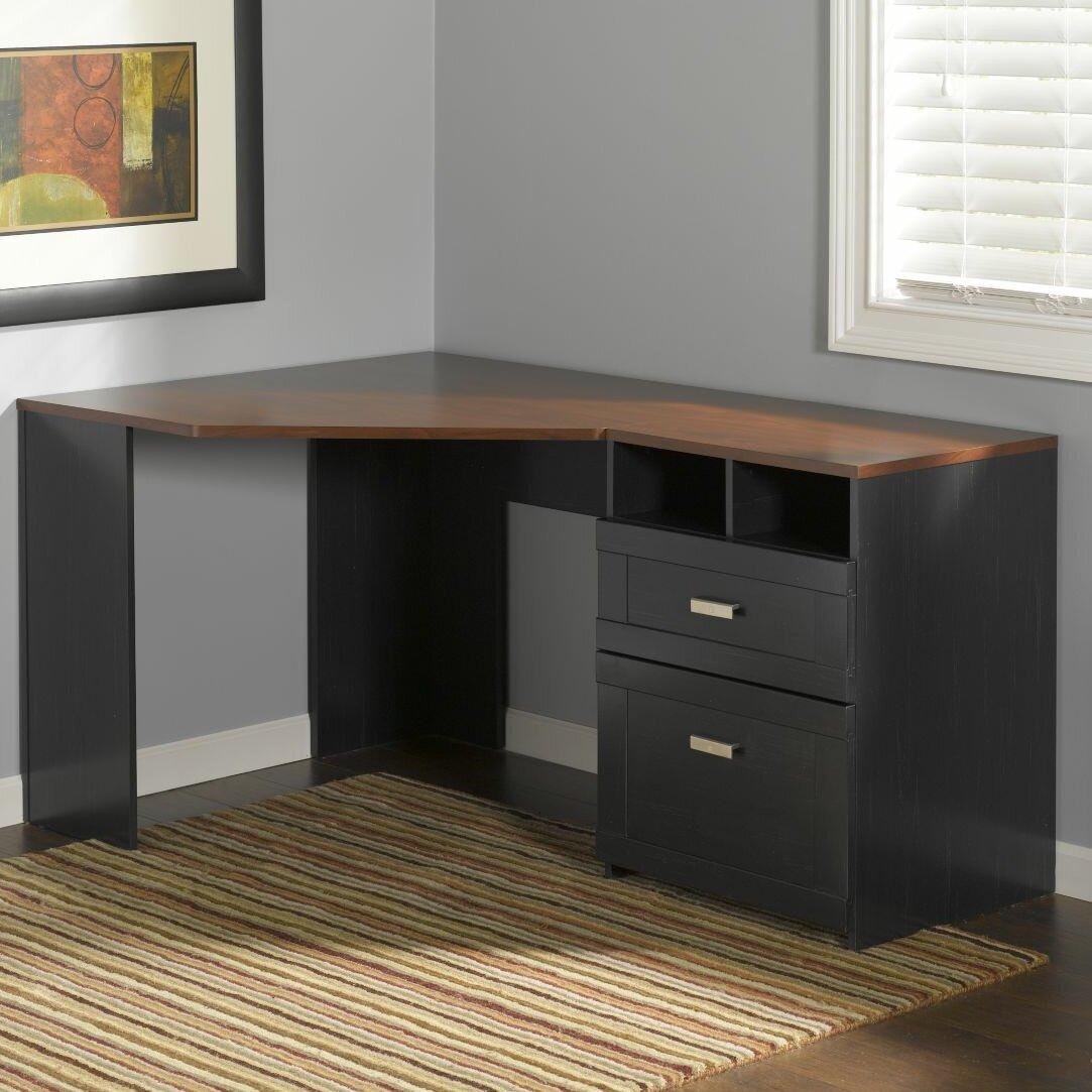 Bush Industries Wheaton Corner Desk Amp Reviews Wayfair