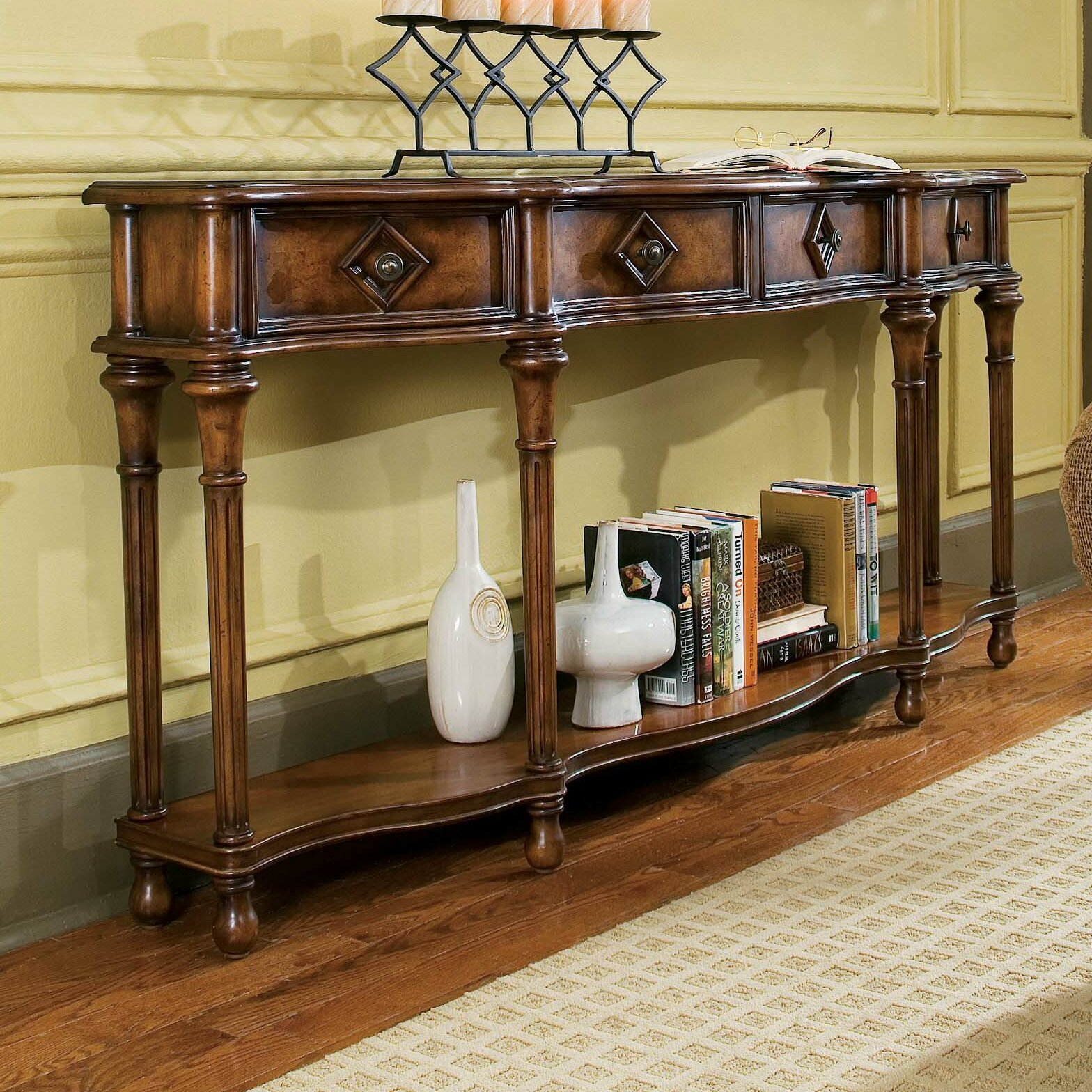 Hall Console Table : Hooker Furniture Decorator Hall Console Table & Reviews  Wayfair