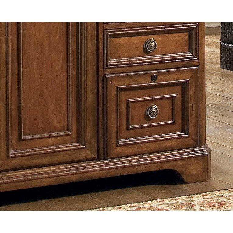 Hooker Furniture Brookhaven Armoire Desk & Reviews | Wayfair