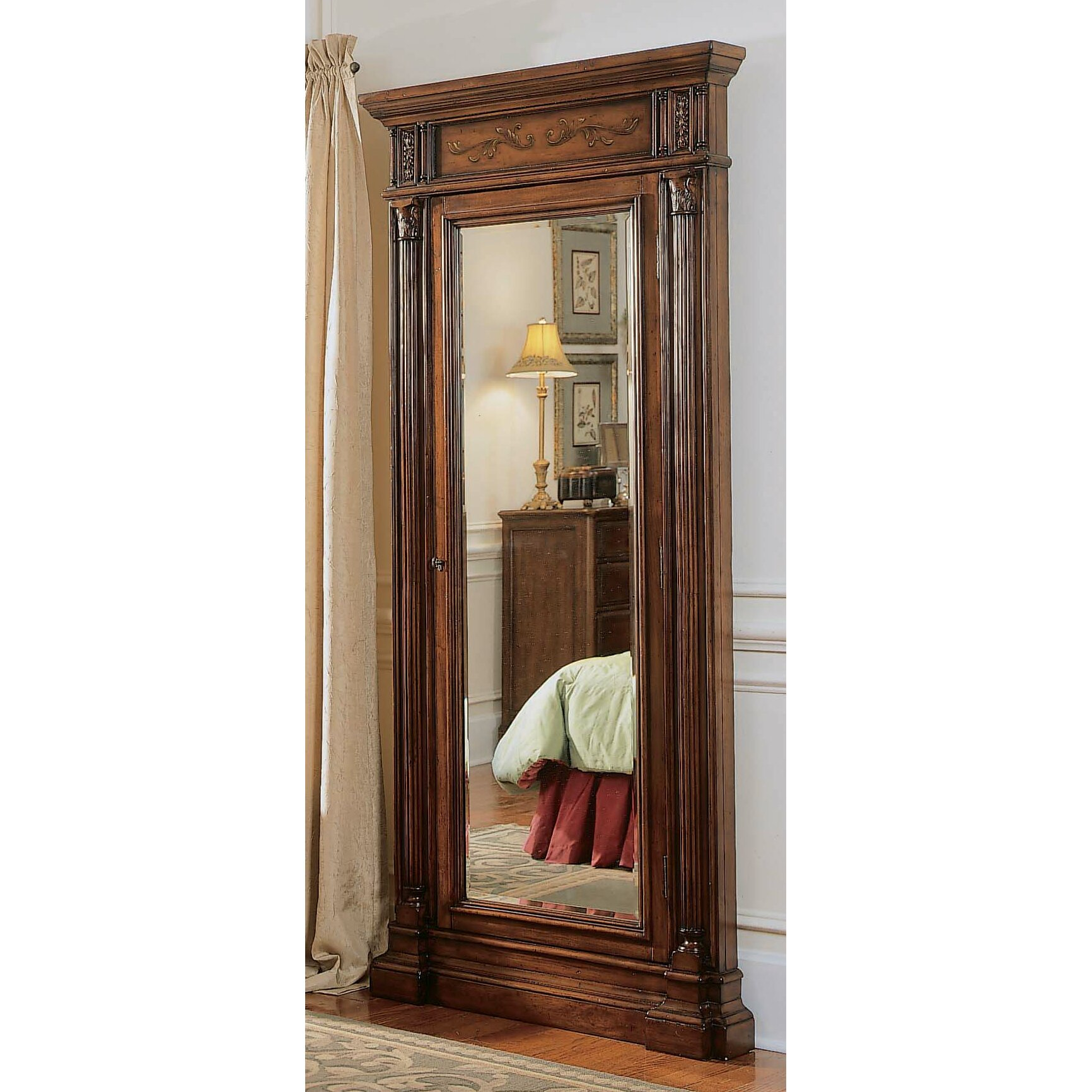 Hooker Furniture Seven Seas Jewelry Armoire with Mirror