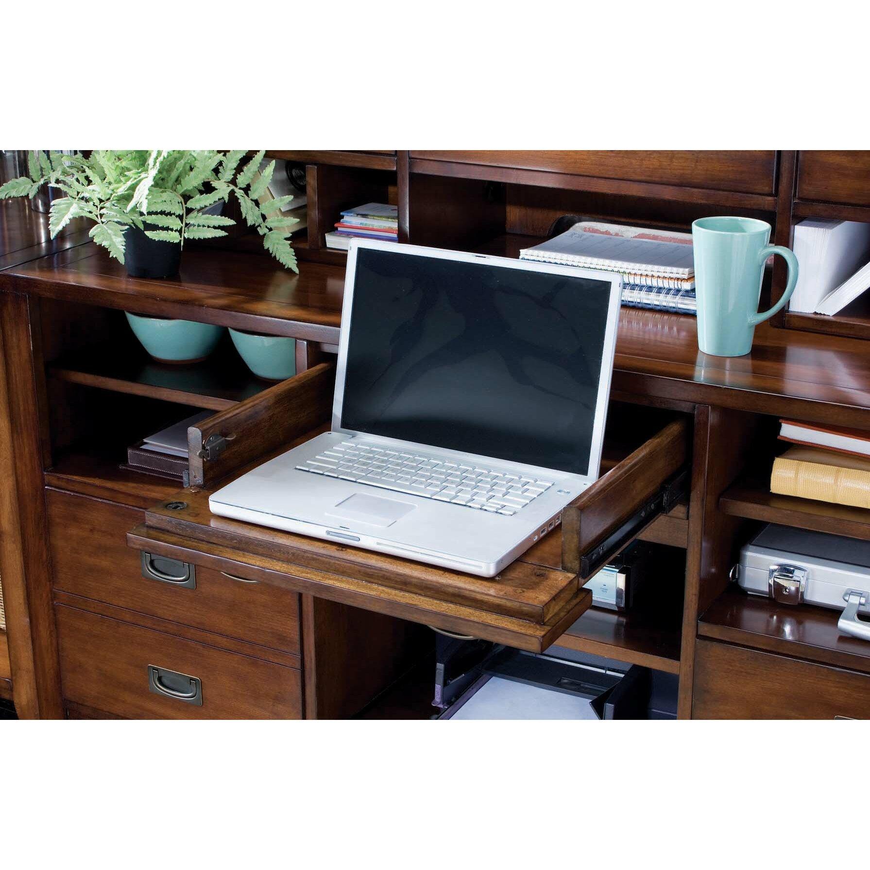 Hooker Furniture Danforth Open Credenza & Reviews