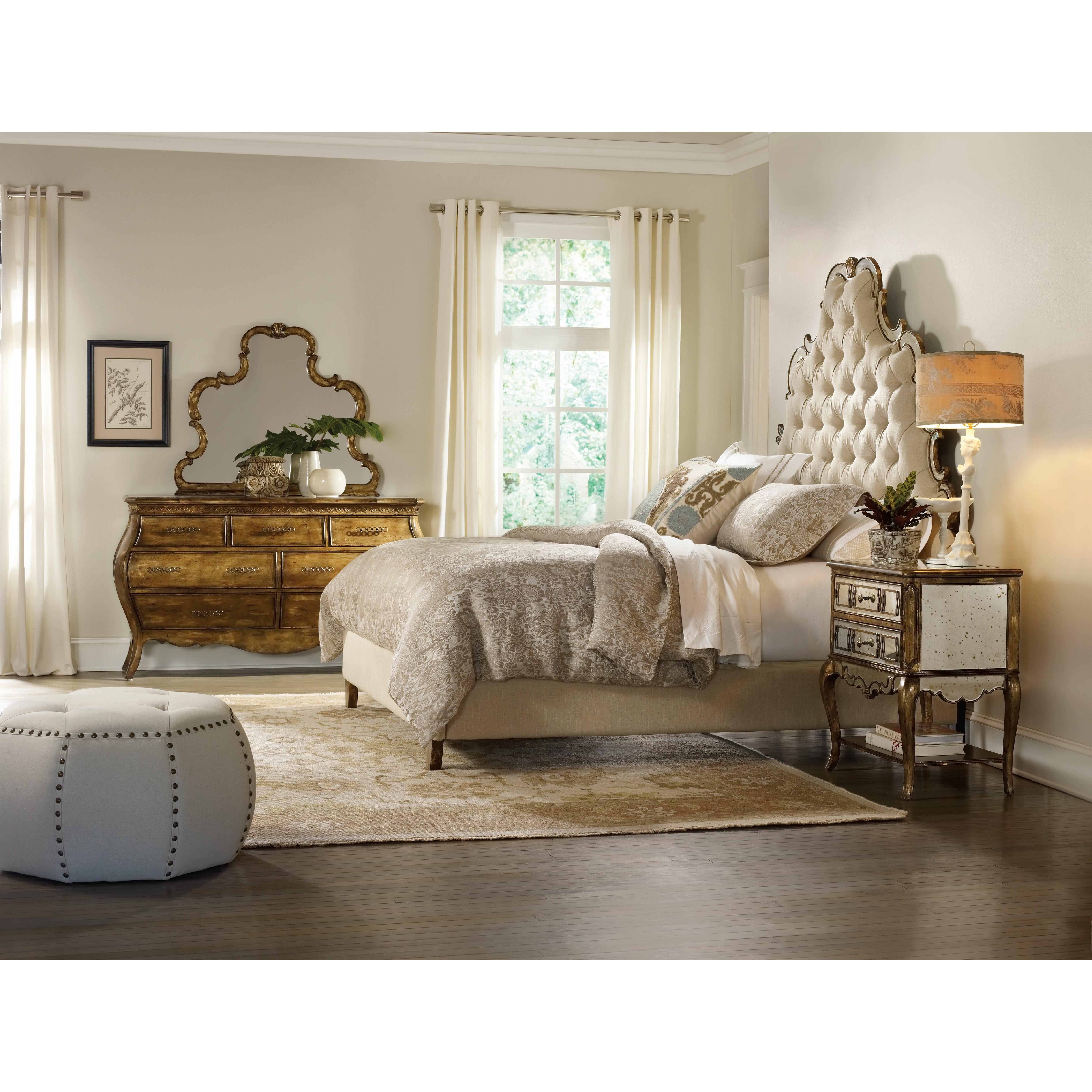 Hooker Furniture Sanctuary Upholstered Headboard & Reviews