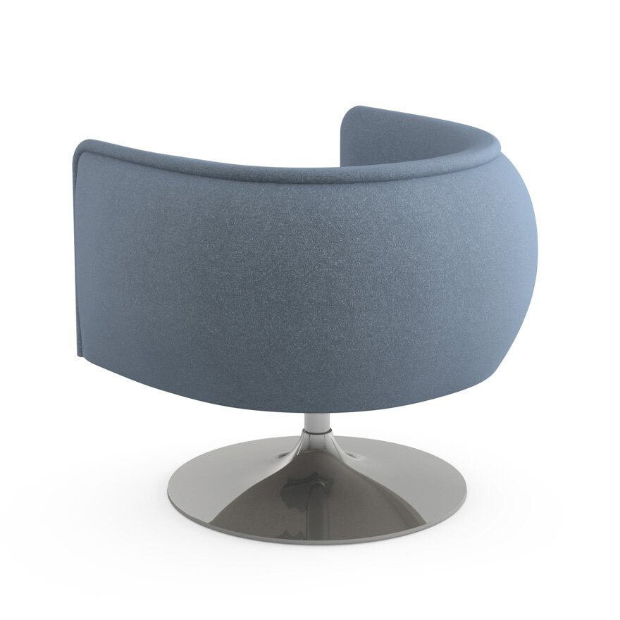 Knoll 174 D Urso Swivel Lounge Chair Allmodern