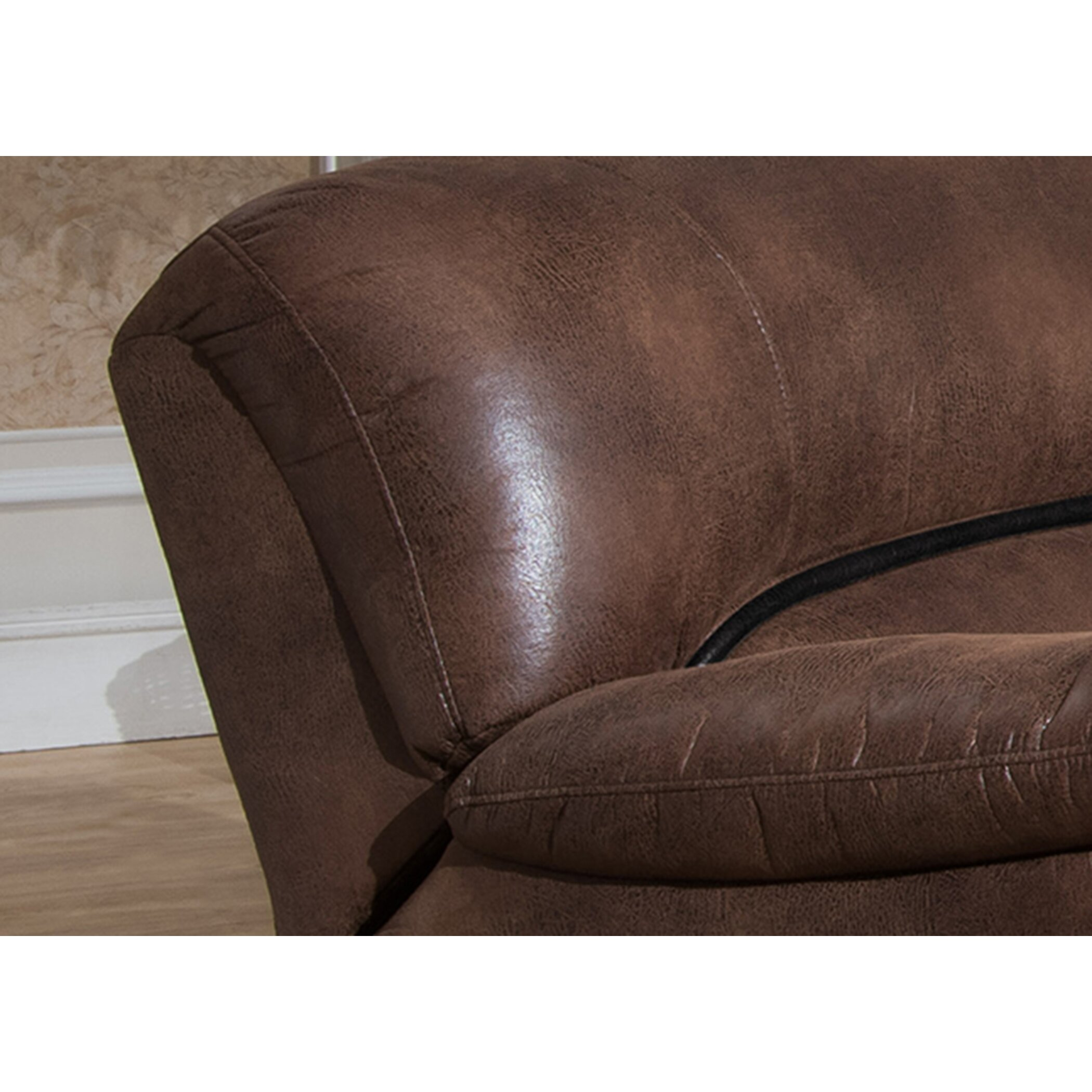 leighton 3 piece reclining living room set wayfair