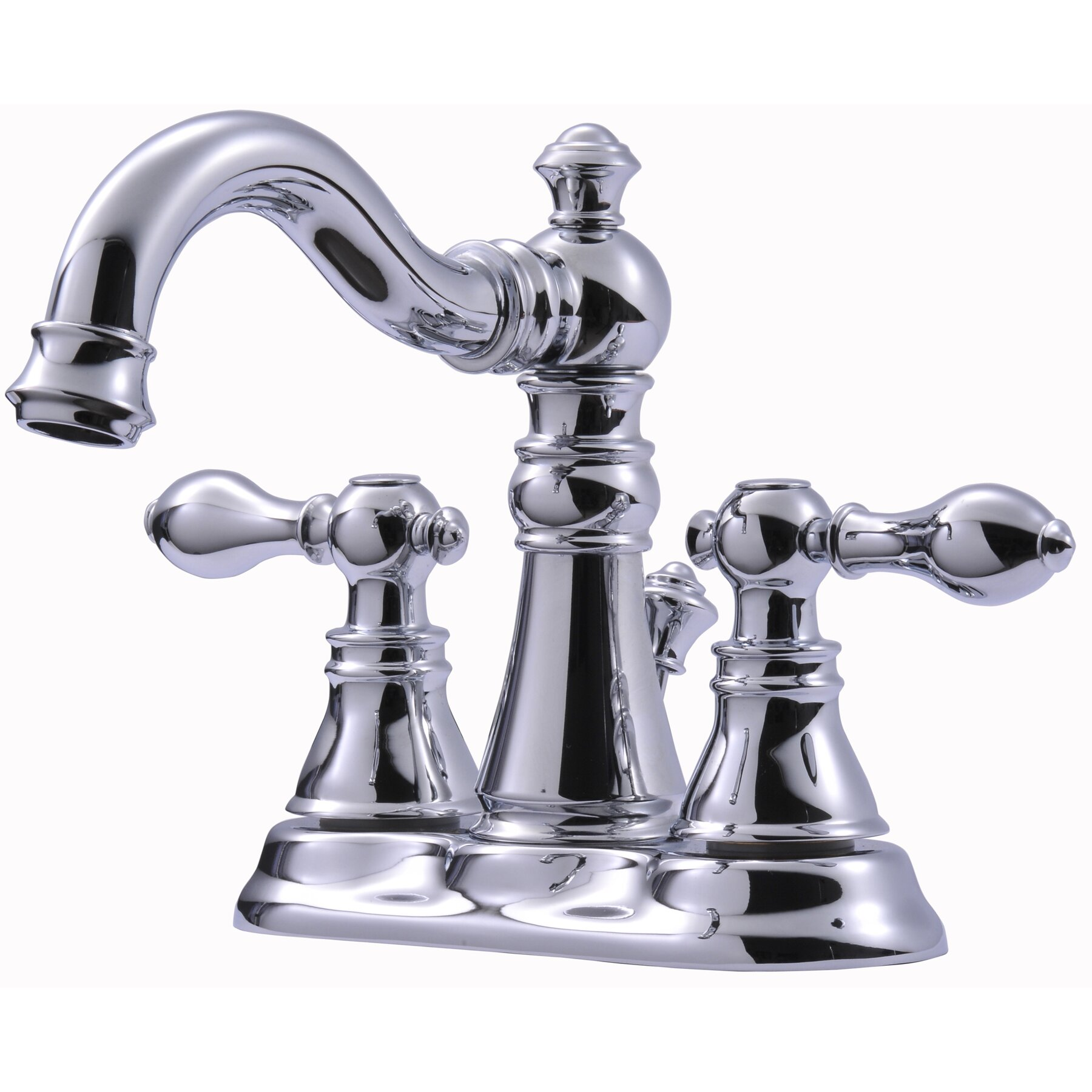 Aqueous Faucet Ballymore Victorian Double Handle Widespread Bathroom Faucet Reviews: Victorian Series Centerset Bathroom Faucet With Double Handles