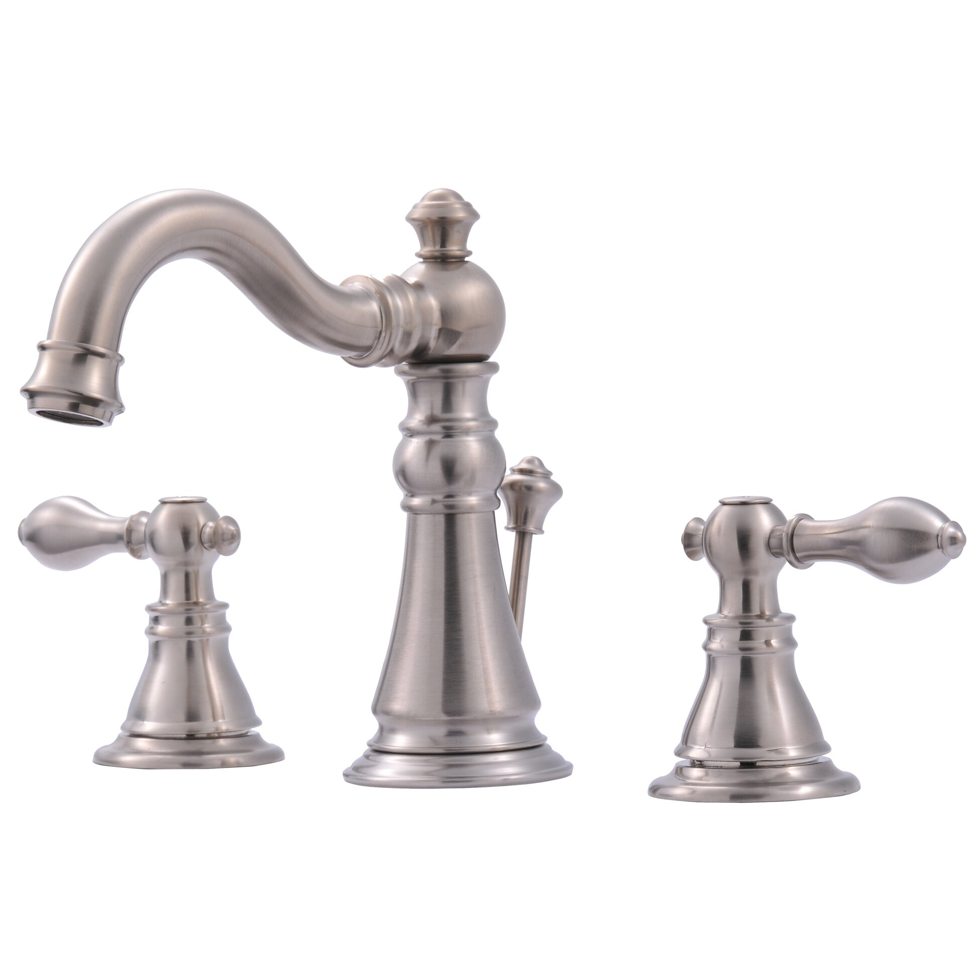 Ultra Faucets Widespread Bathroom Faucet With Double Handles Reviews Wayfair