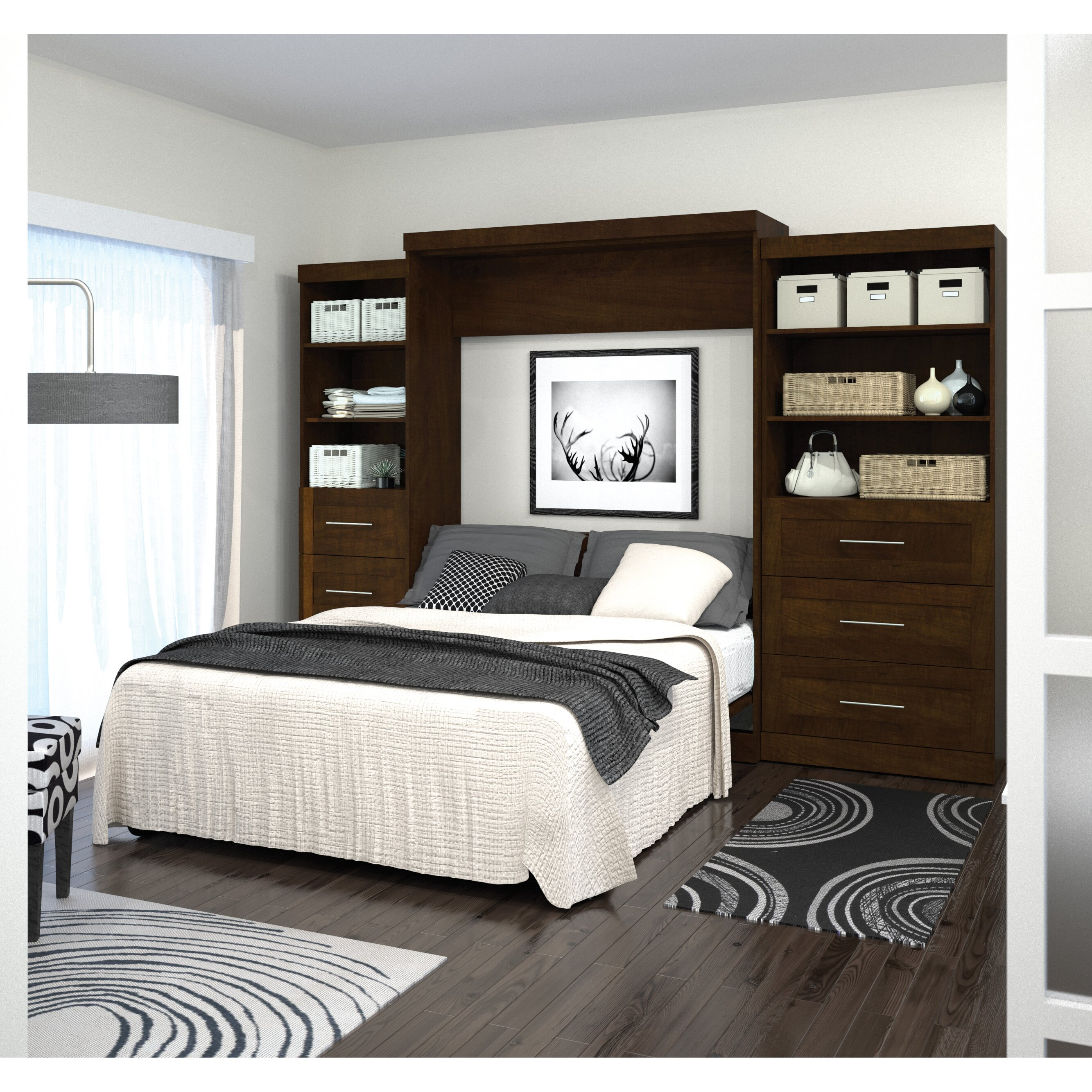 Queen Murphy Bed Wayfair
