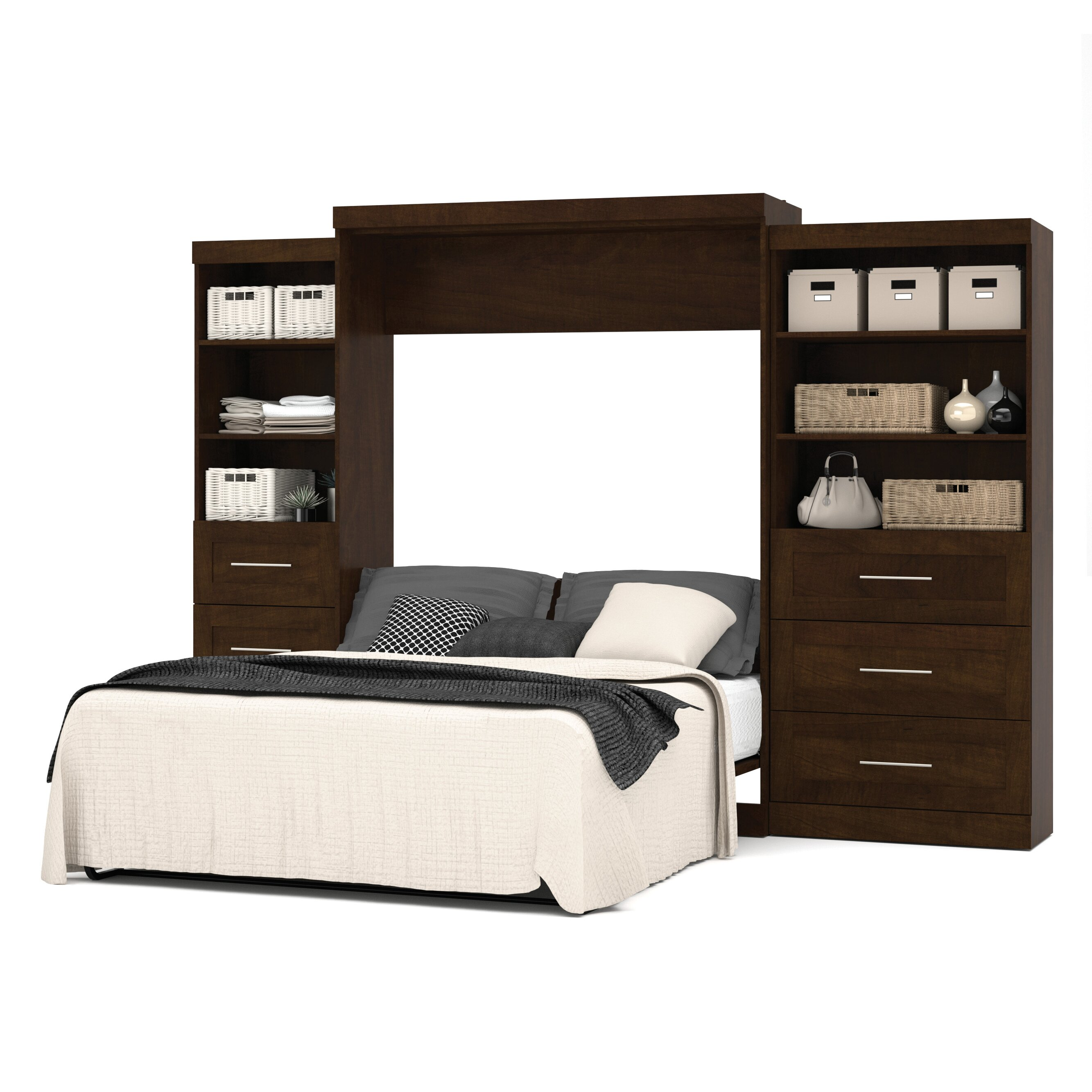 Bestar Queen Murphy Bed & Reviews | Wayfair