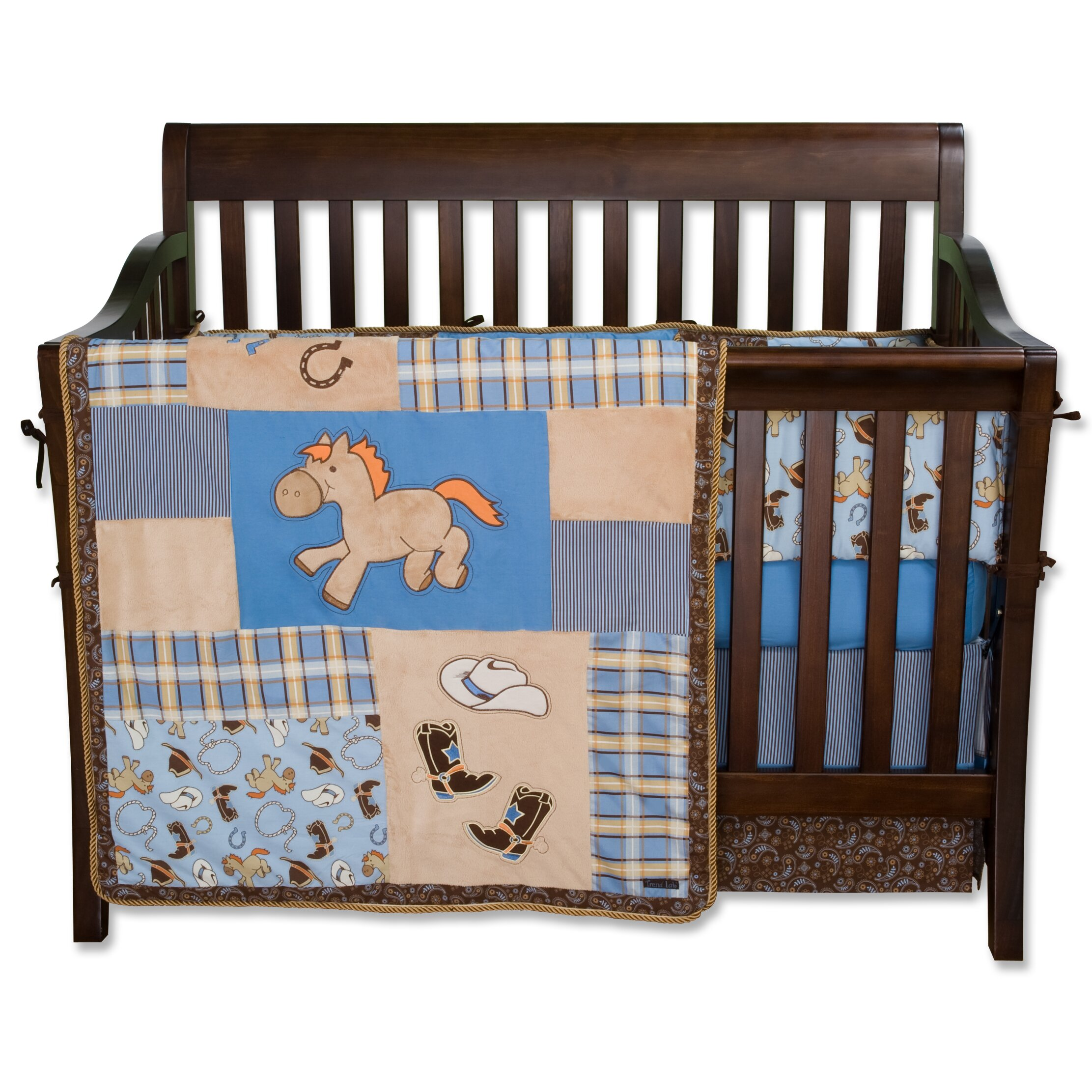 Cowboy Baby 4 Piece Crib Bedding Set Wayfair