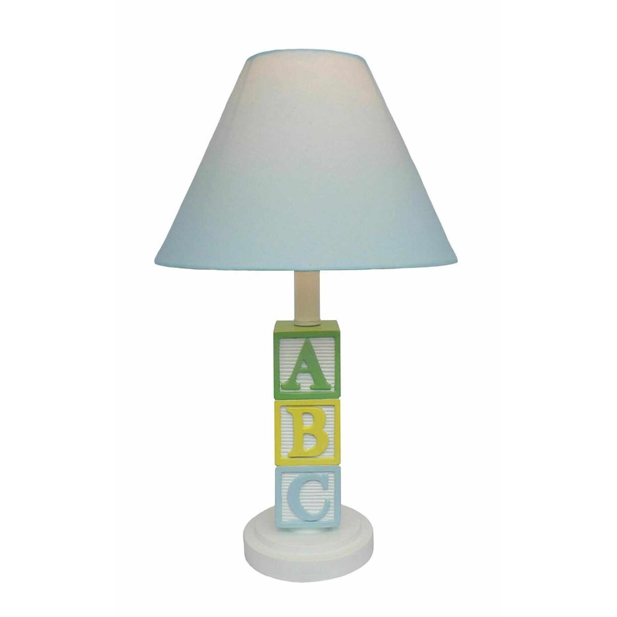 Creative motion abc character 17 h table lamp with empire shade reviews - Creative lamp shades ...