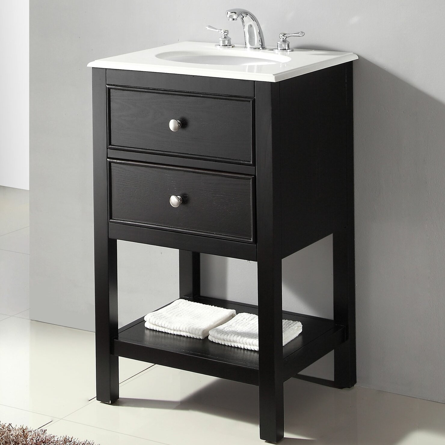 "Varick Gallery Whitehall Street 21"" Single Bathroom Vanity ..."
