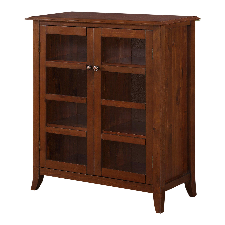 Home Depot Cabinets Review: Simpli Home Devon Medium Storage Cabinet & Reviews