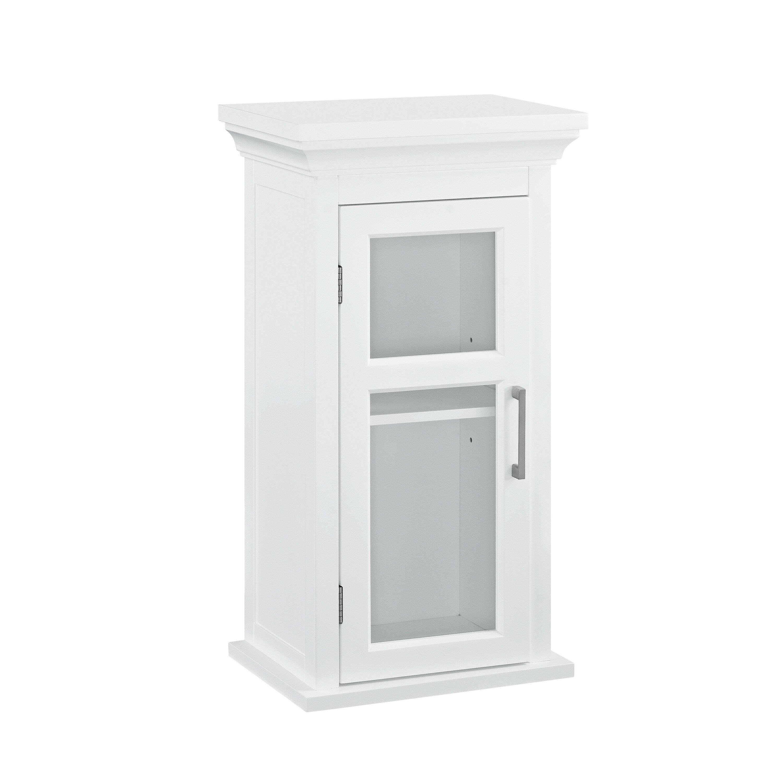 simpli home avington 15 x wall mounted cabinet. Black Bedroom Furniture Sets. Home Design Ideas
