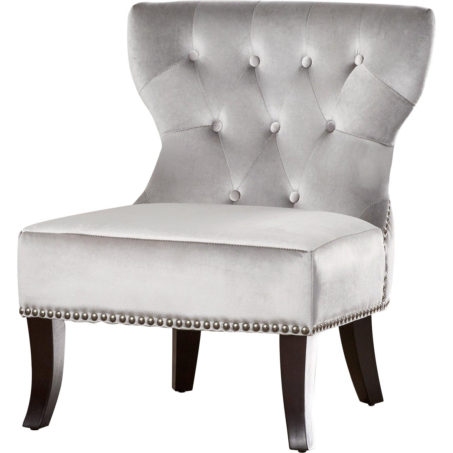 Simpli Home Kitchener Accent Slipper Chair Amp Reviews Wayfair