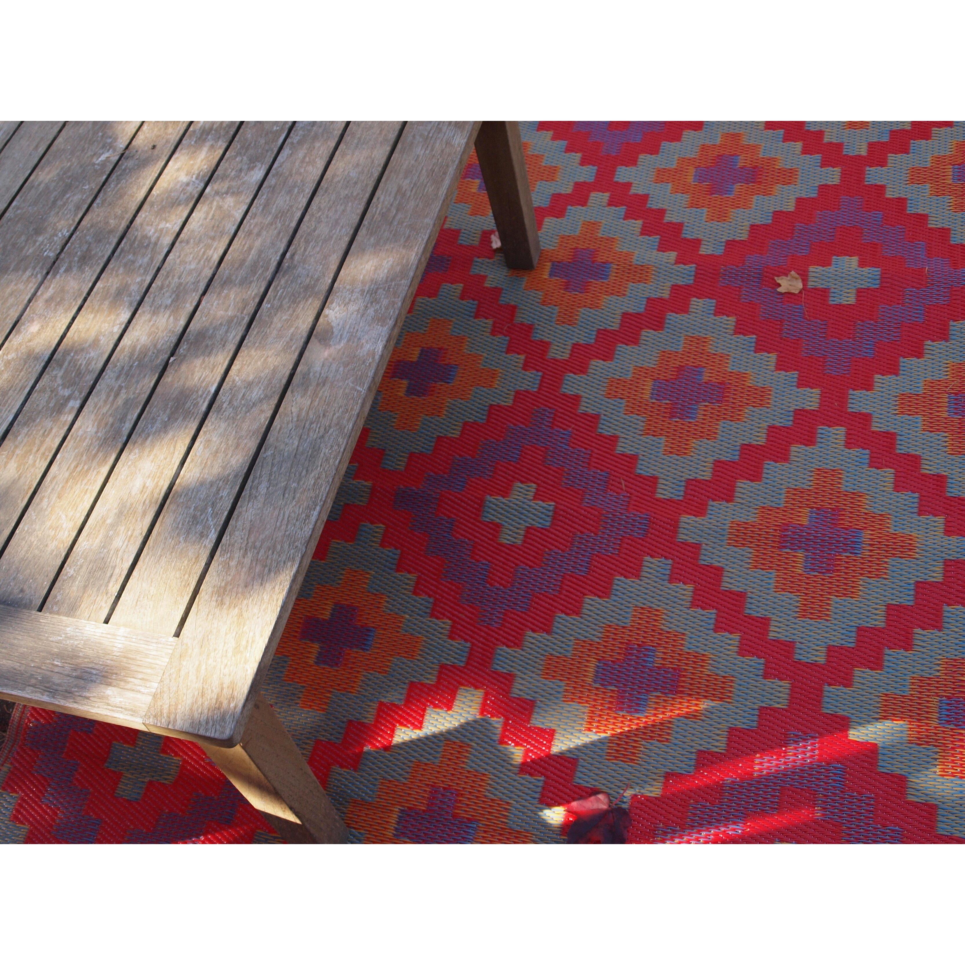Fab Rugs World Saman Indoor Outdoor Area Rug I & Reviews