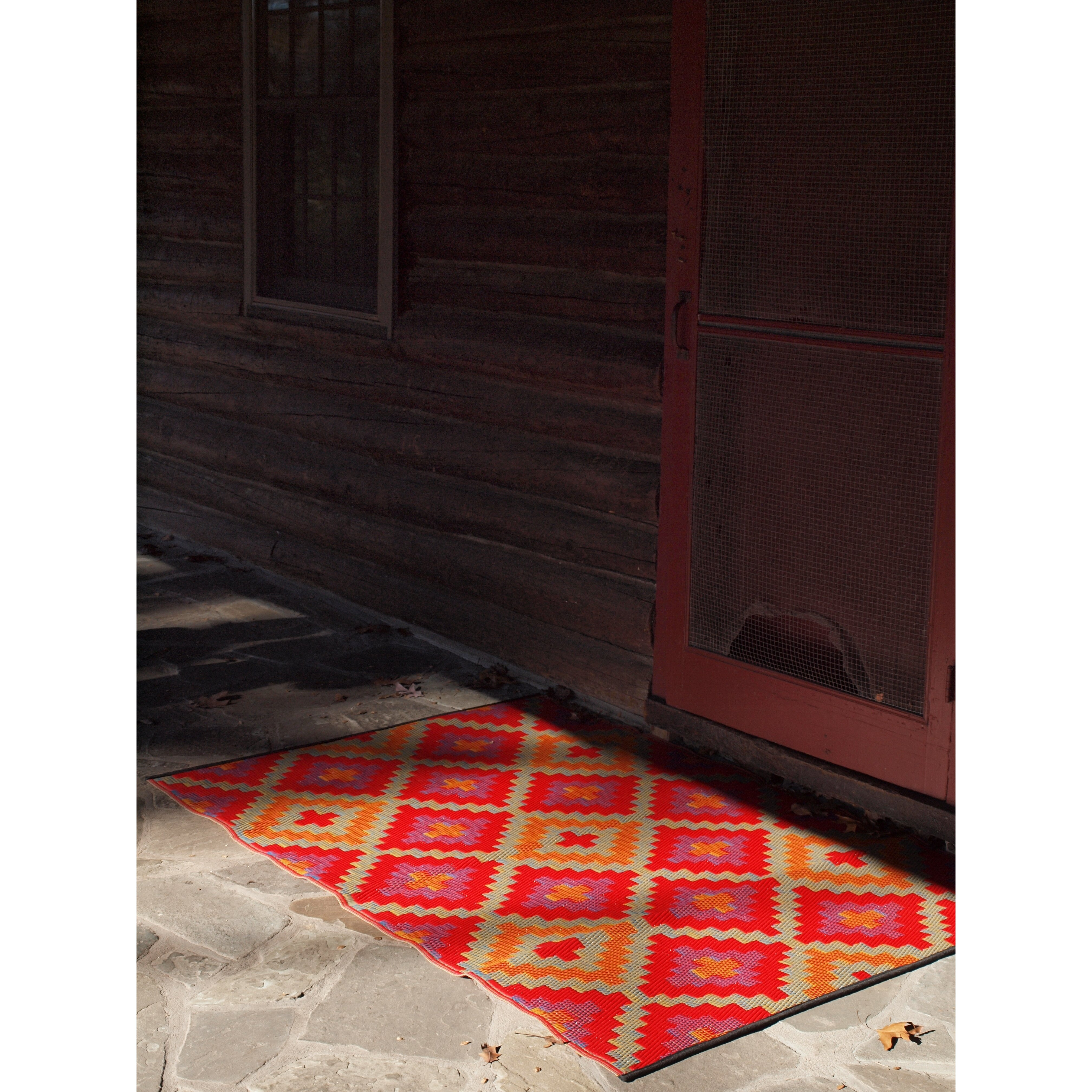 World Saman Indoor Outdoor Area Rug I
