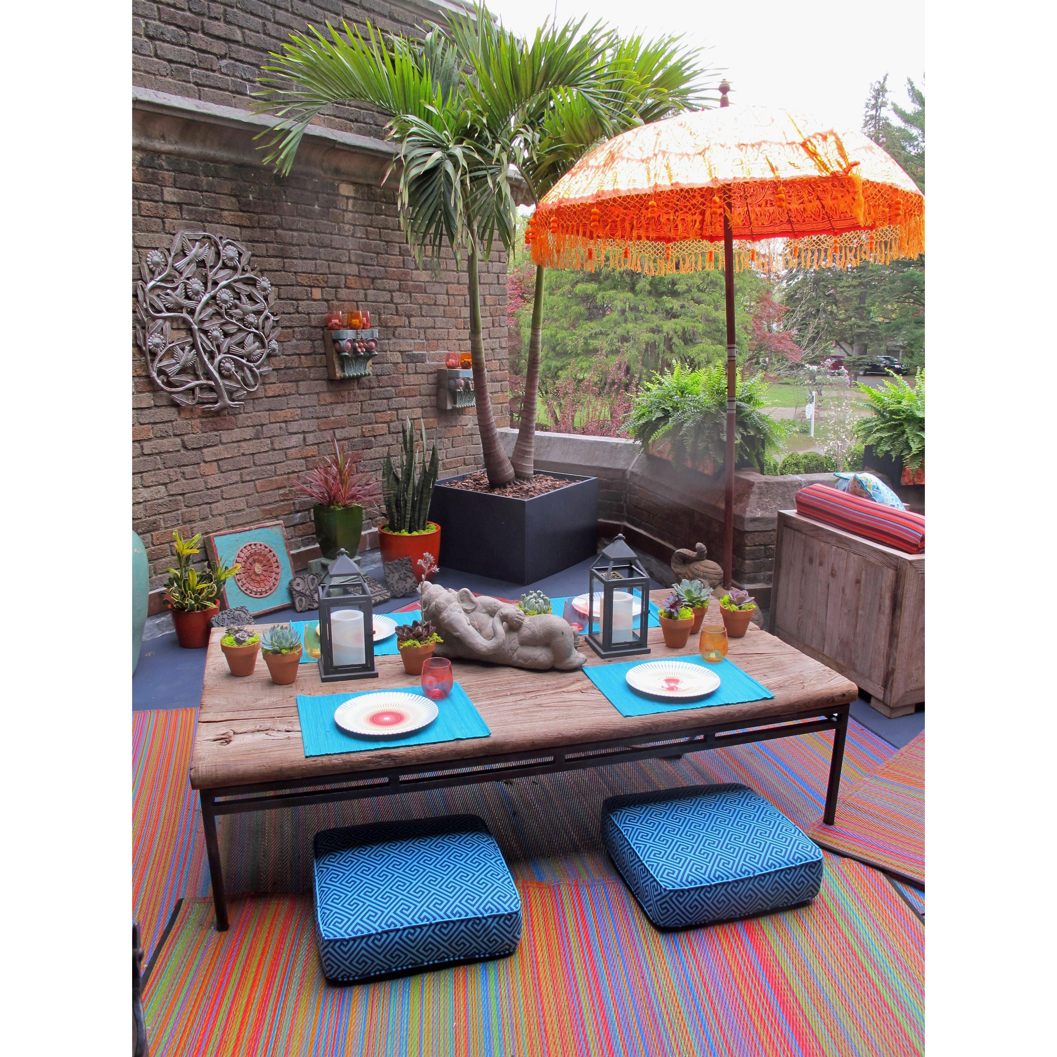World Cancun Indoor Outdoor Area Rug