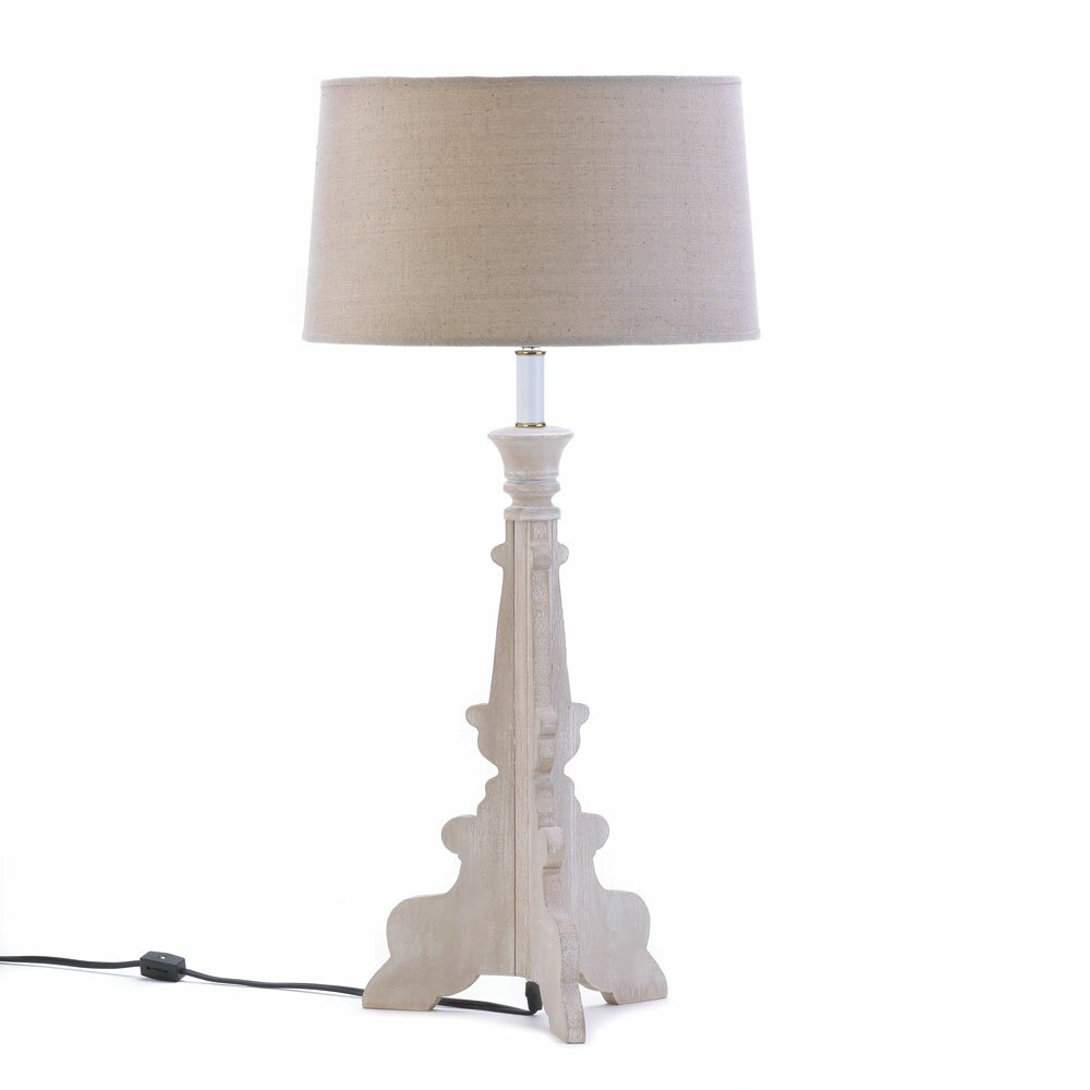 """Malibu Creations French Country 29"""" H Table Lamp With"""