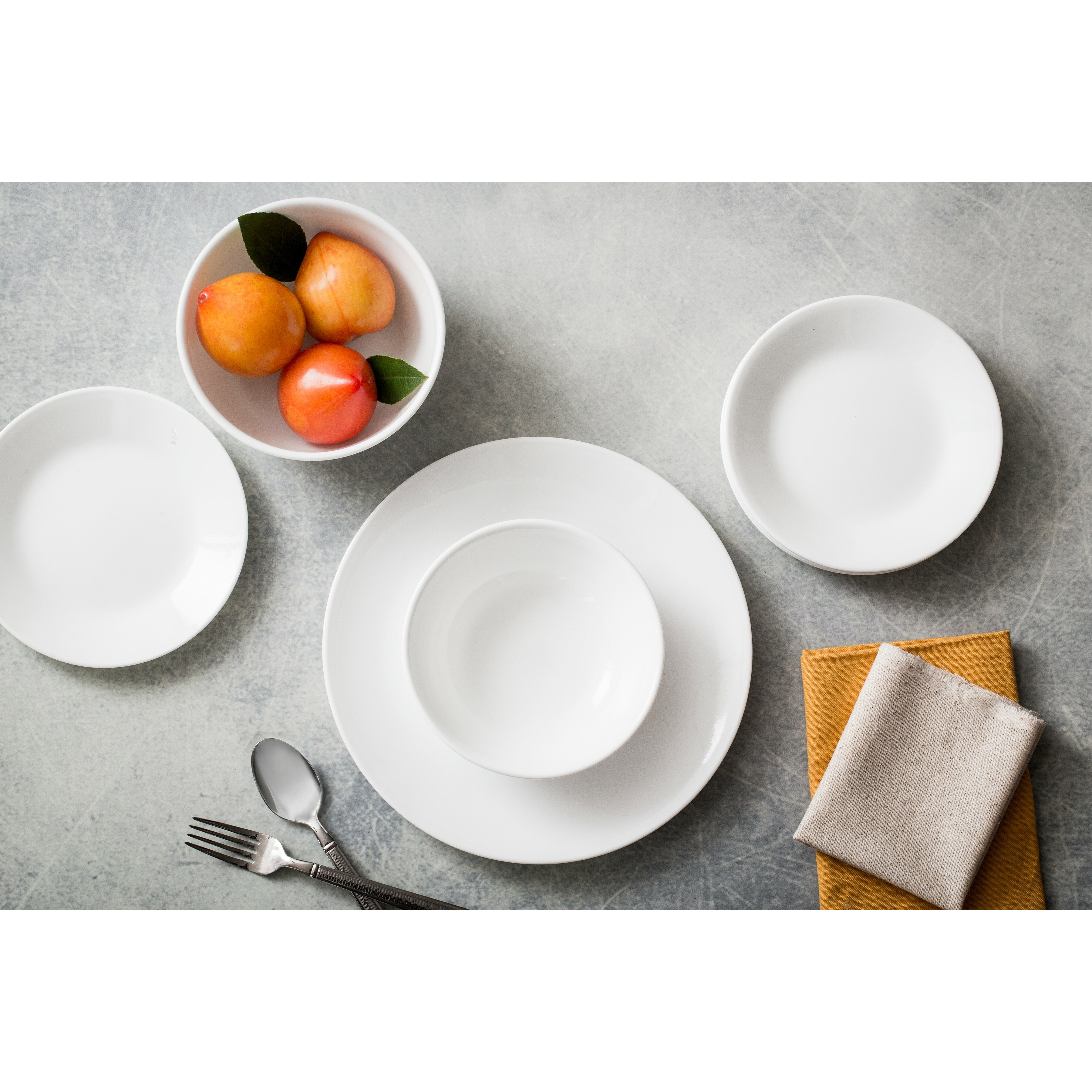 Corelle Corelle Livingware 74 Piece Dinnerware Set
