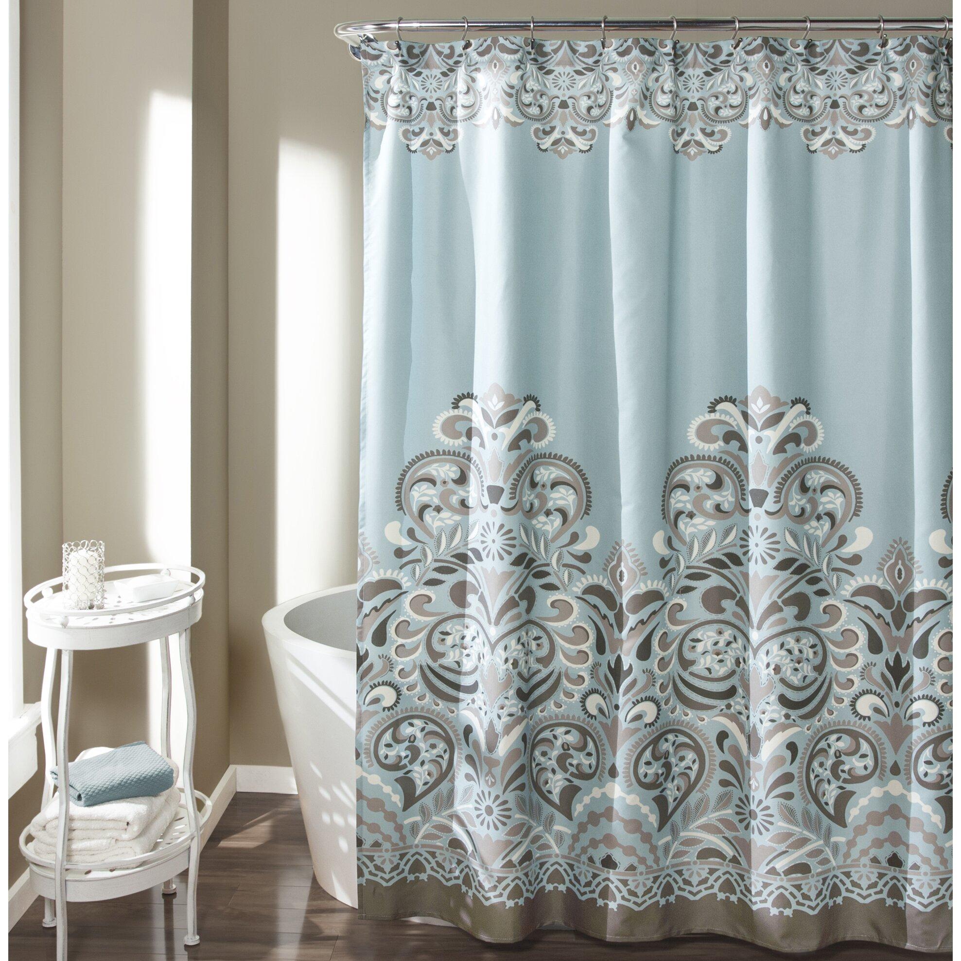 Clara Shower Curtain Wayfair