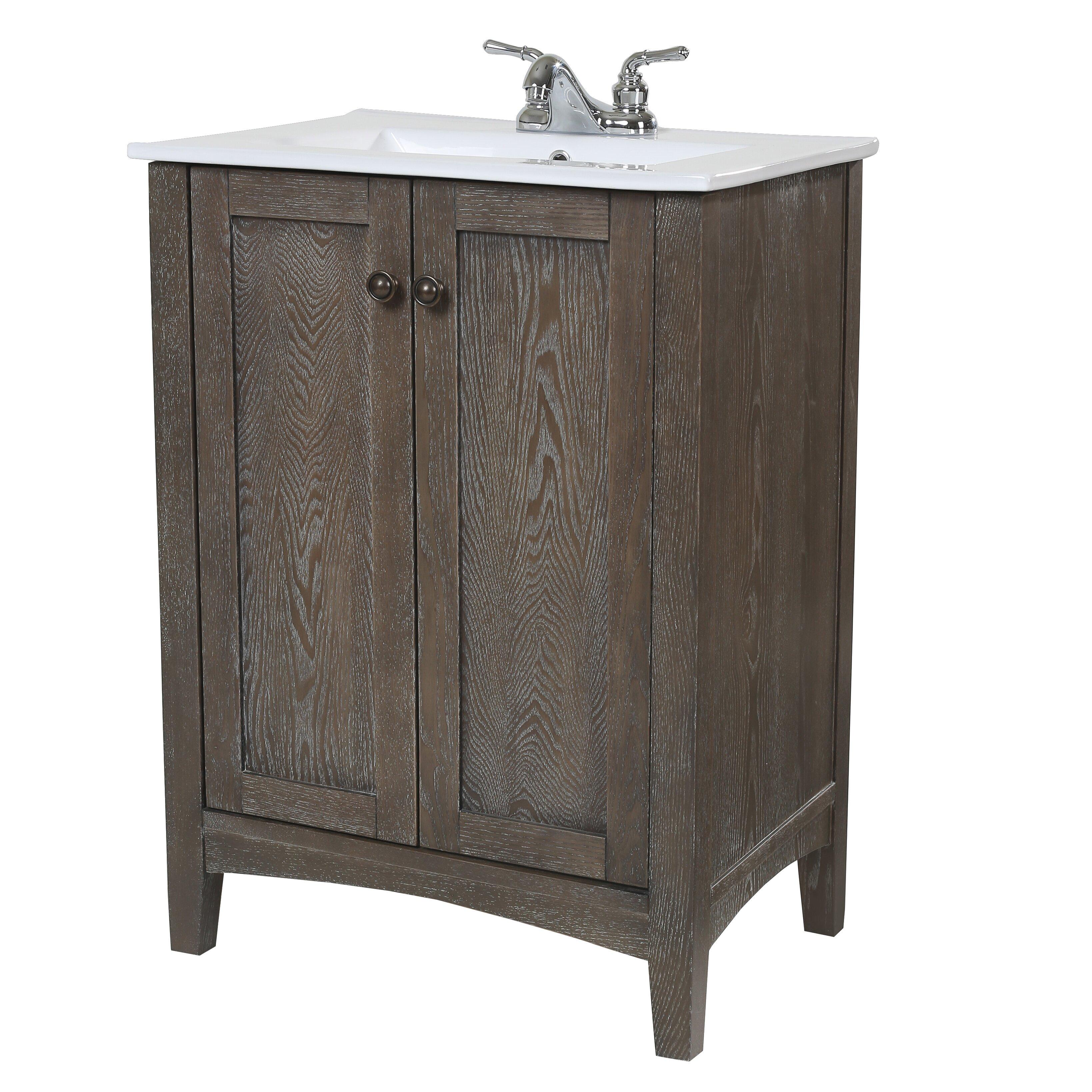 elegant lighting danville 24 single bathroom vanity set reviews wayfair