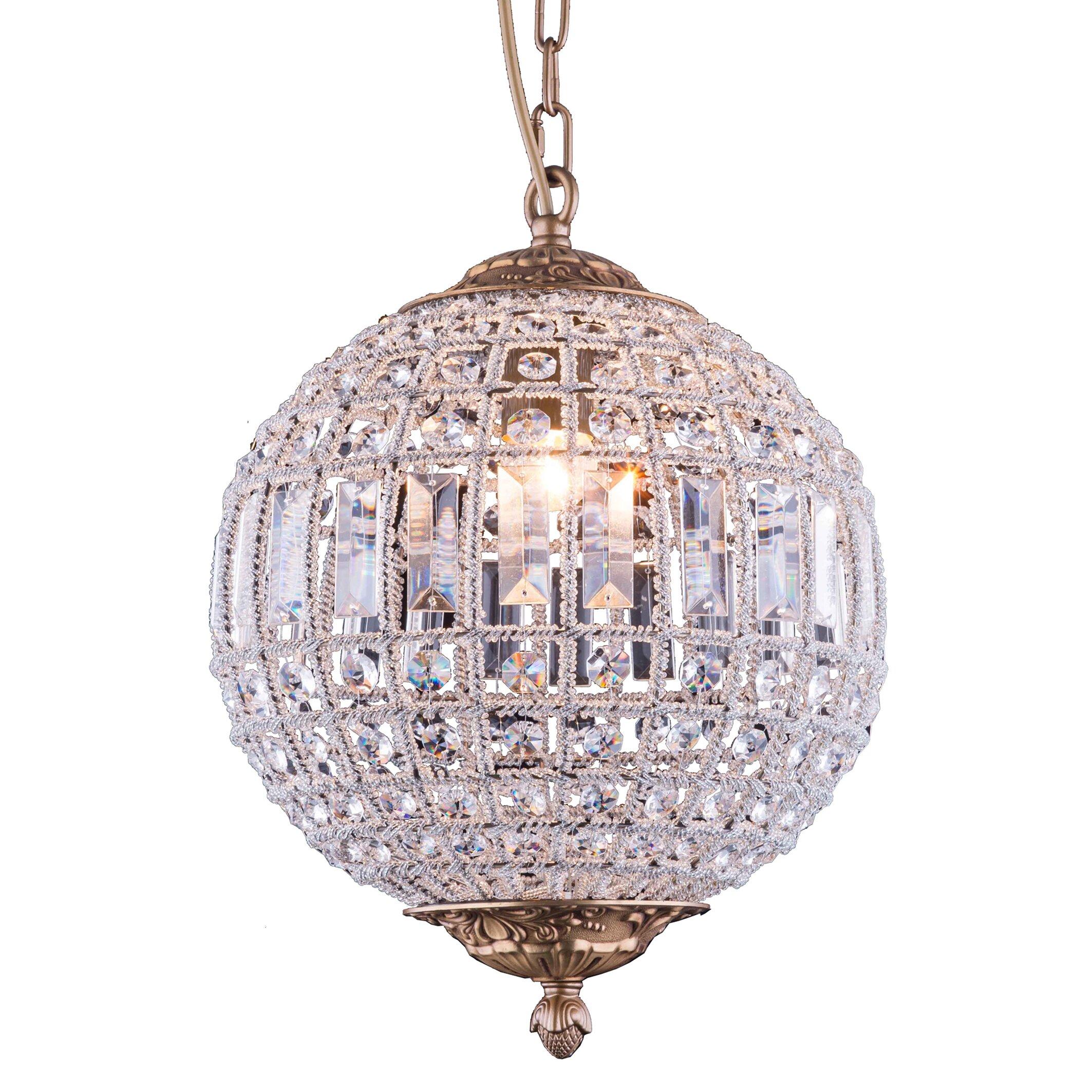 Elegant Lighting Olivia 1 Light Globe Pendant Reviews