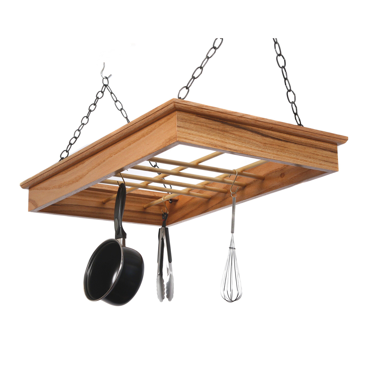 Hanging Pot and Pan Rack | Wayfair