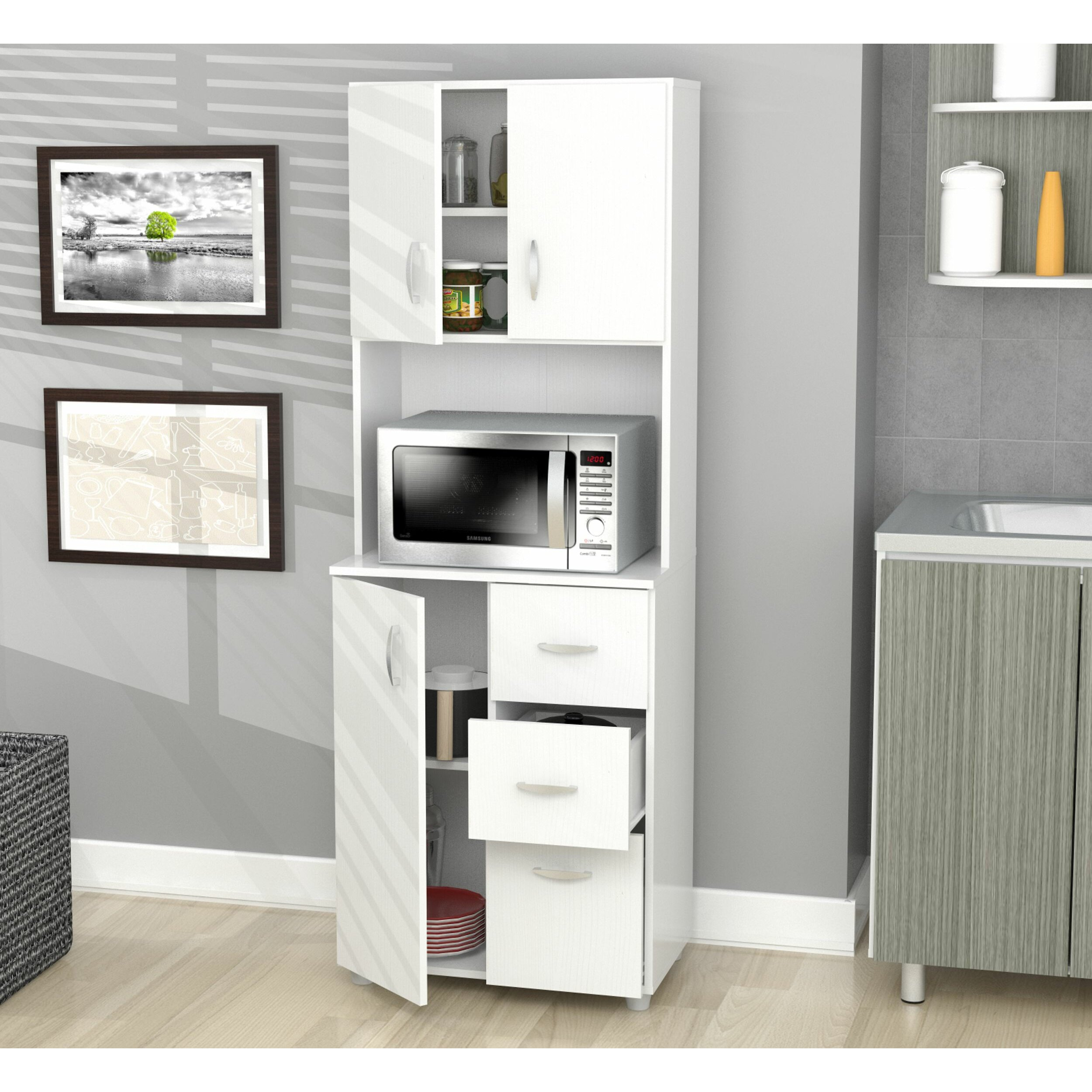 Inval Inval Kitchen Cabinet & Reviews