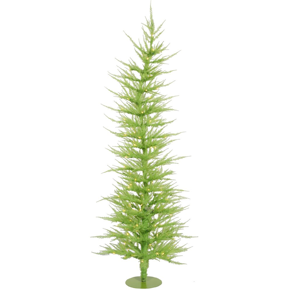 Colorful Laser 3' Green Artificial Christmas Tree with 50 ...