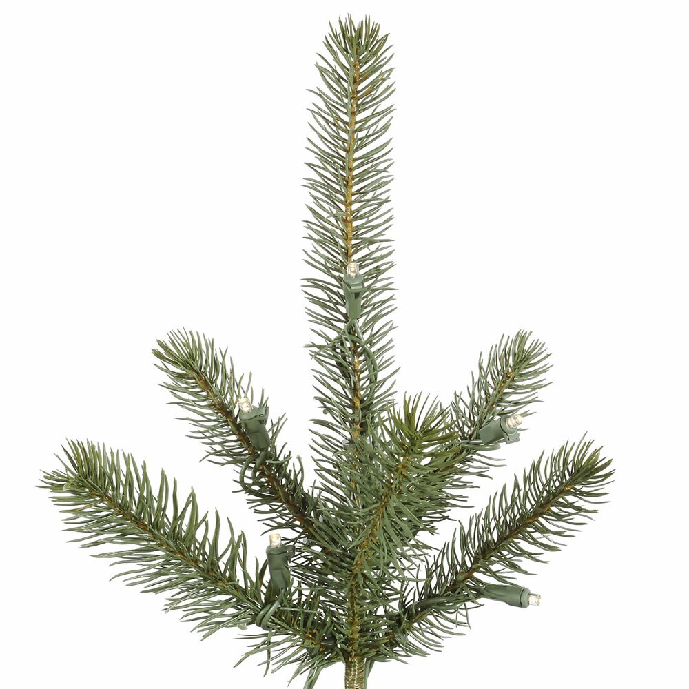 Next Slim Christmas Tree: Slim Colorado Spruce 4.5' Green Artificial Christmas Tree