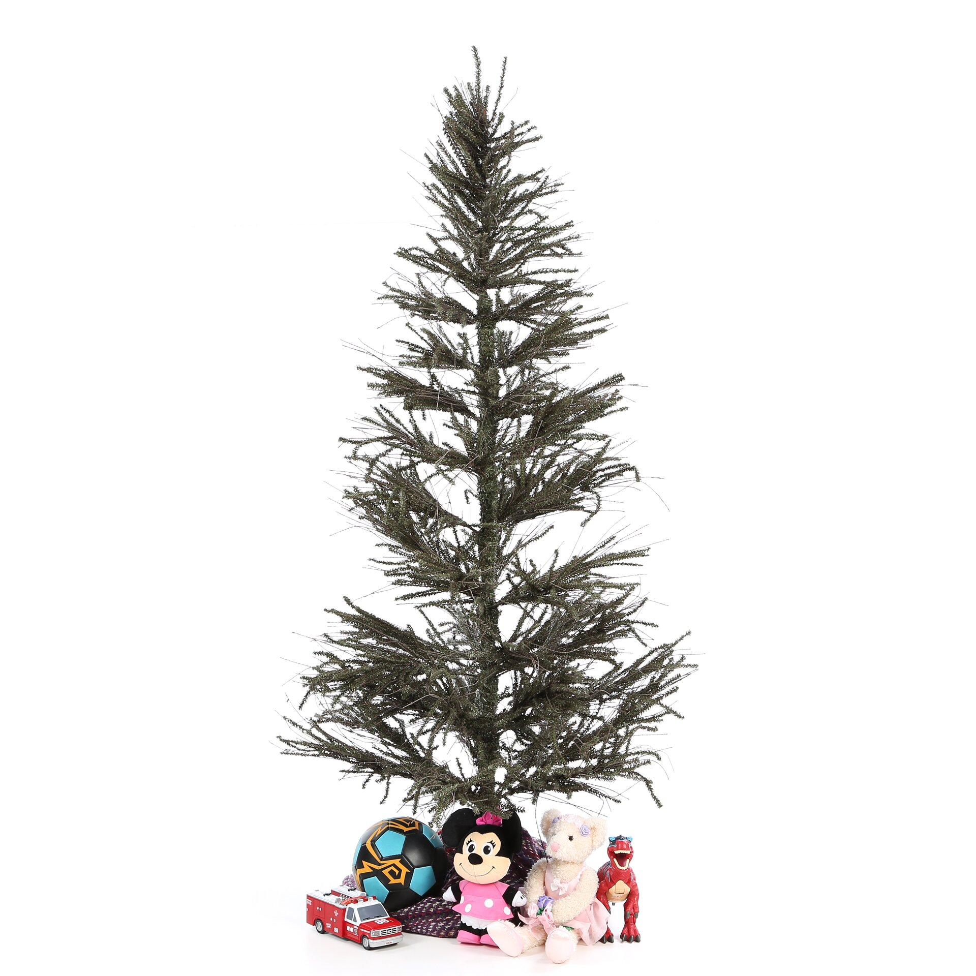 6' Vienna Twig Green Slim Artificial Christmas Tree | Wayfair